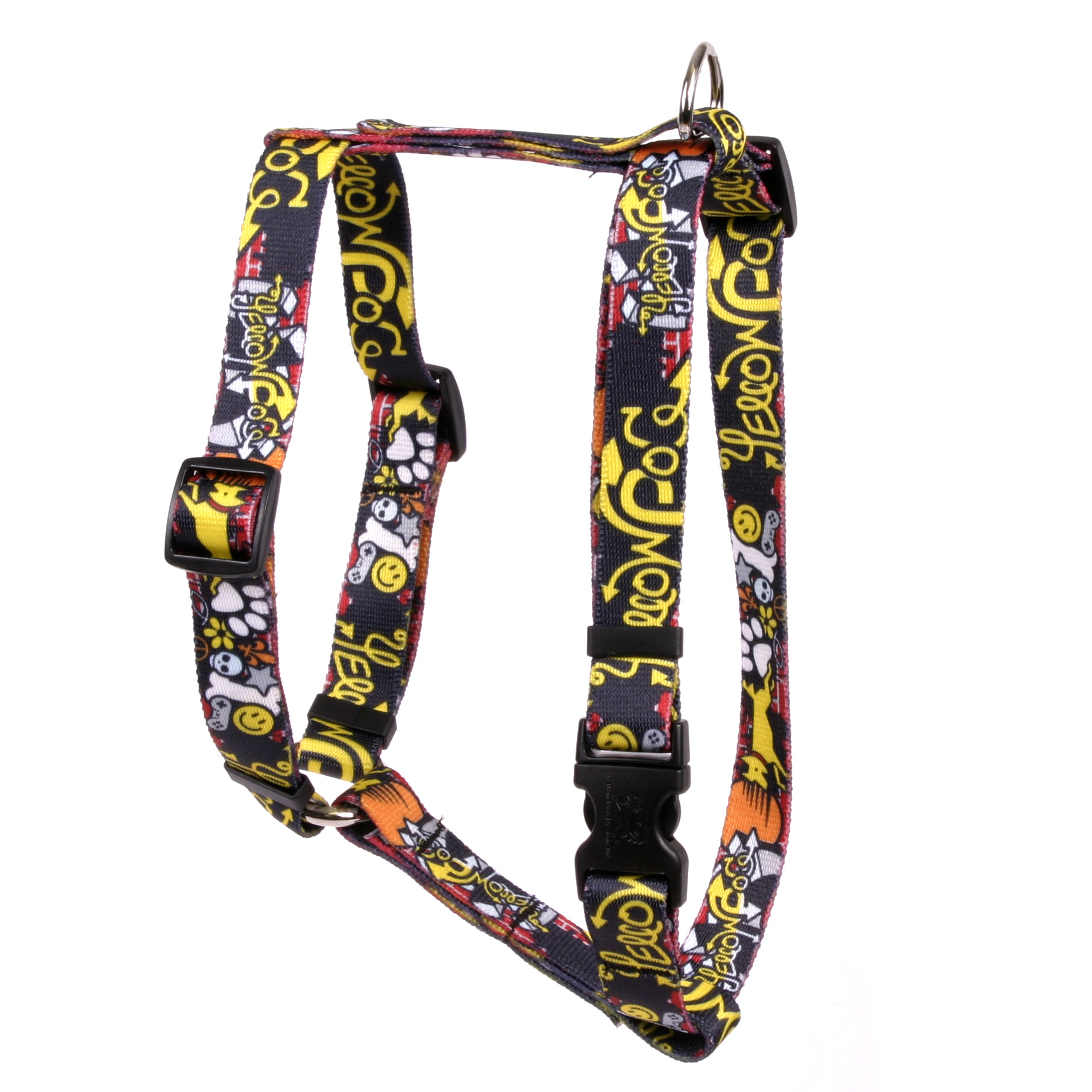 Graffiti Dog Roman H Harness
