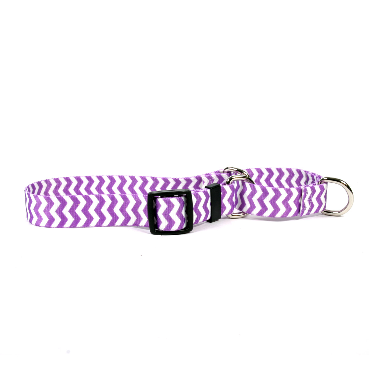 Grape Chevron Martingale Collar