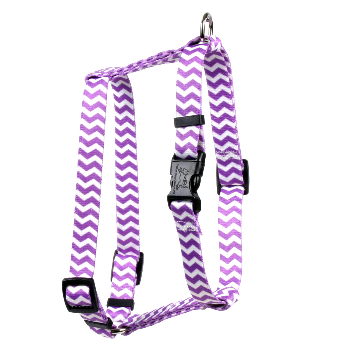 Grape Chevron Roman H Harness