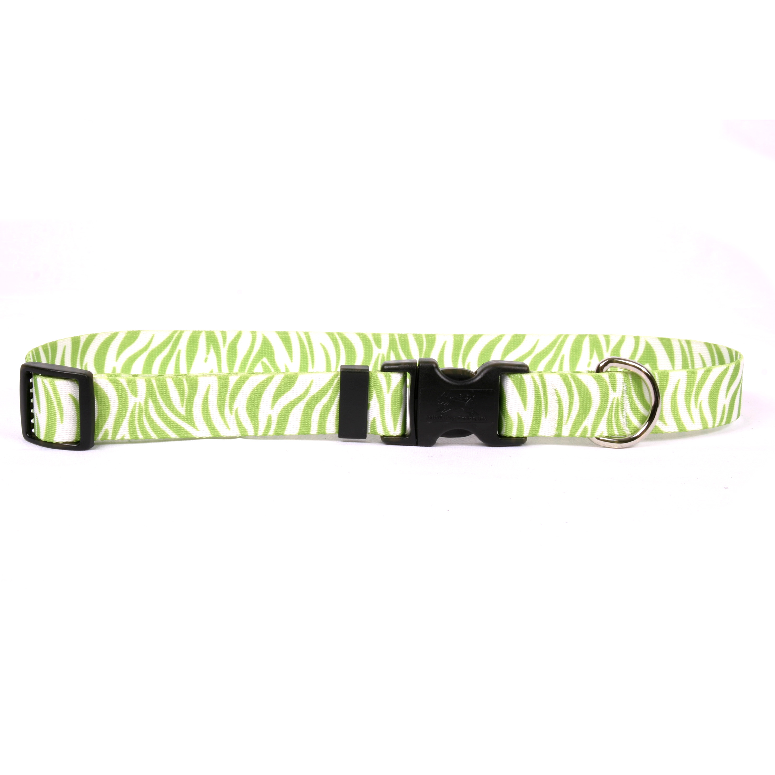Zebra Green Standard Collar