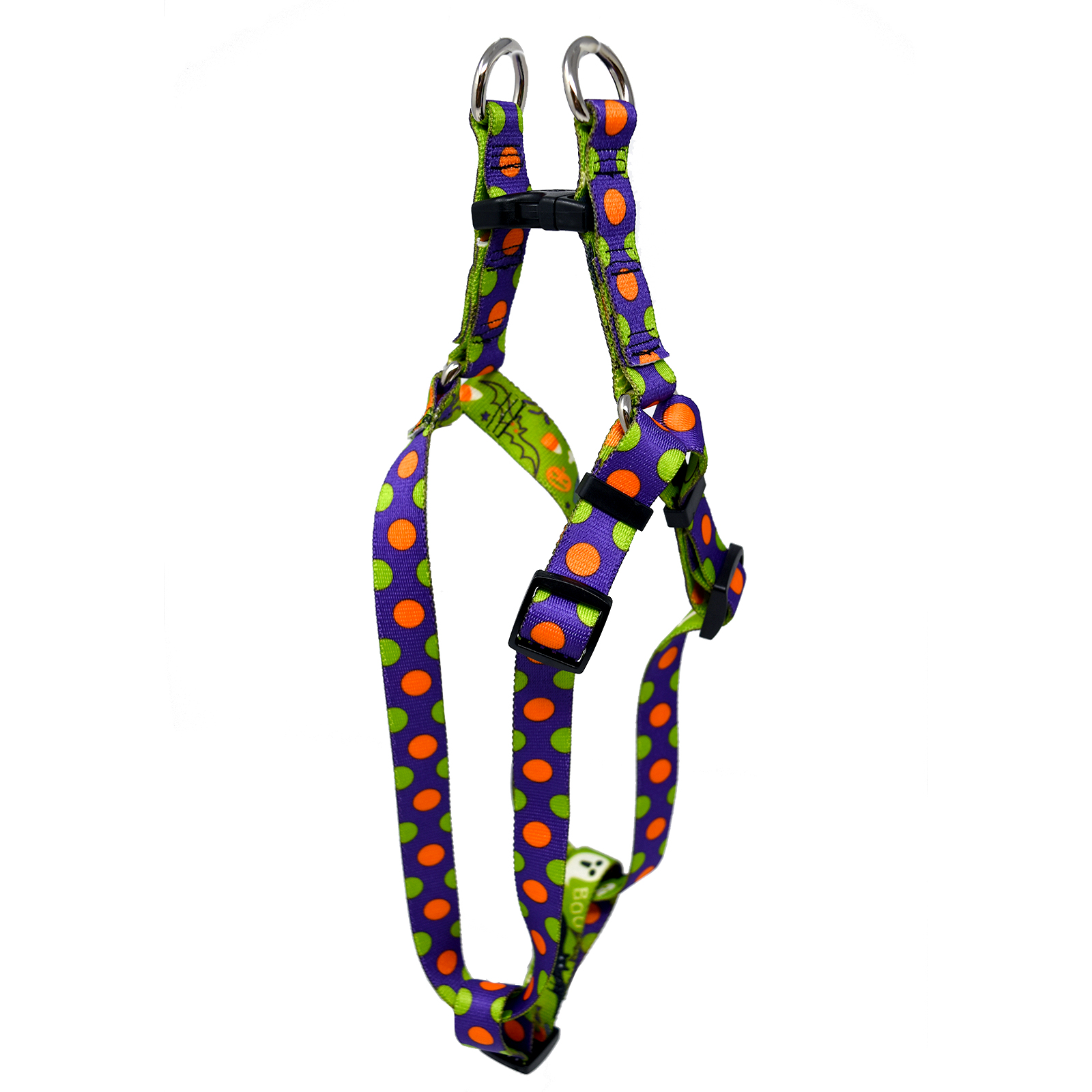 Halloween Mix Polka Step-In Harness