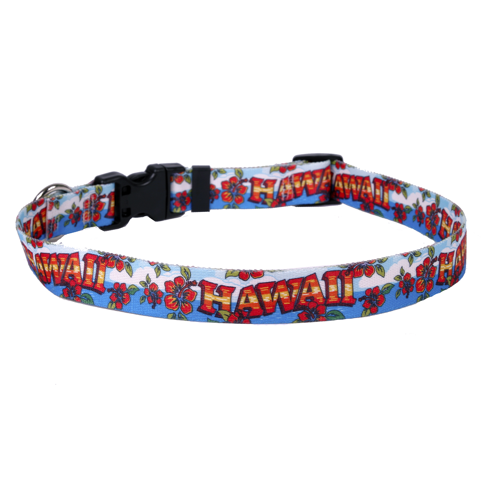 Hawaii Red and Blue Standard Collar