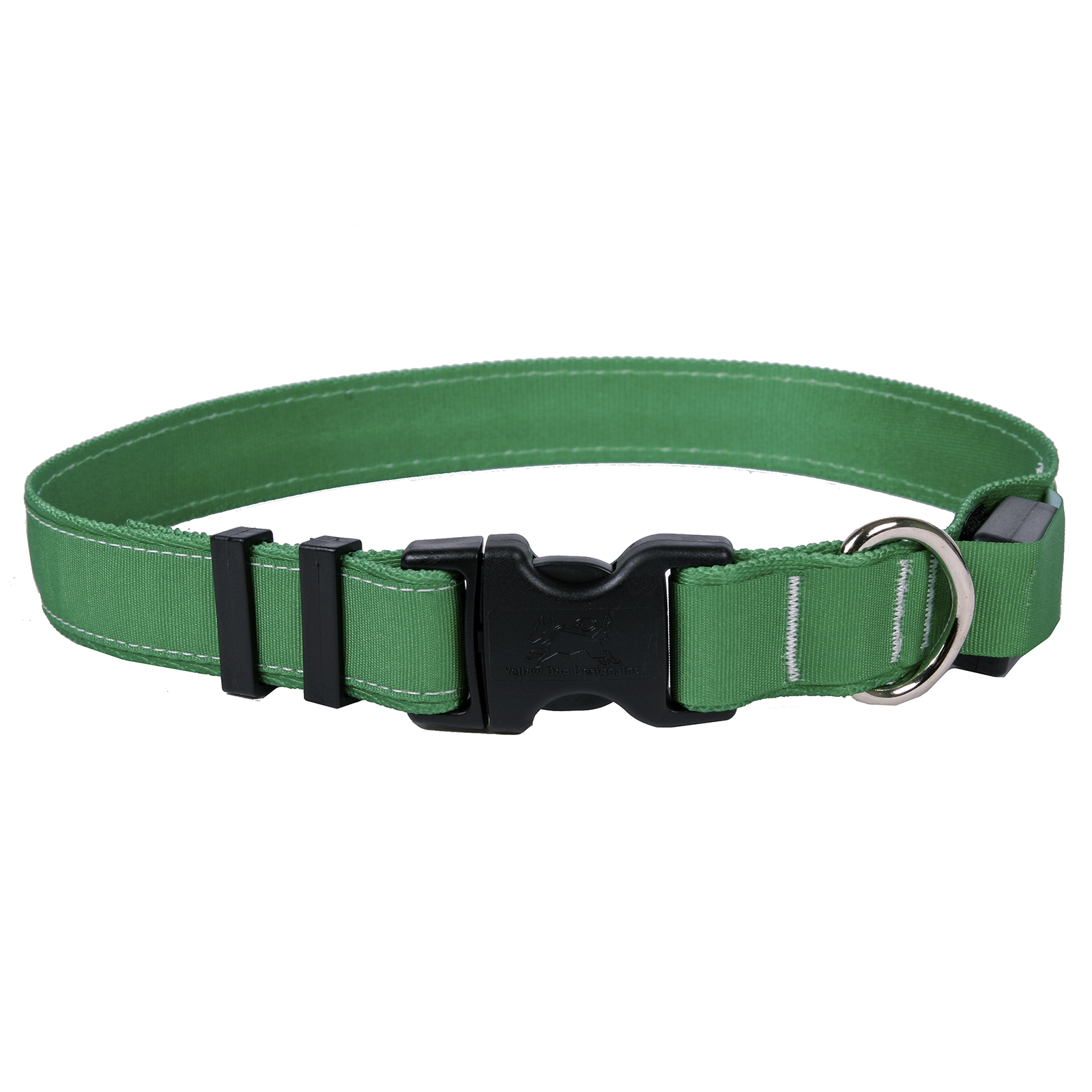 Solid Kelly Green ORION LED Dog Collar
