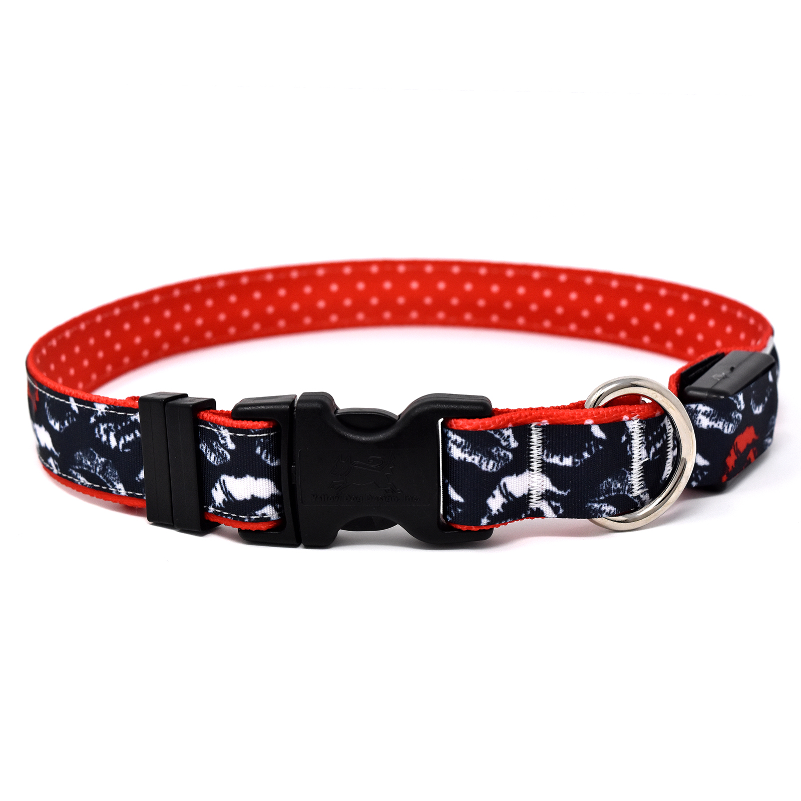 Kisses Black ORION LED Dog Collar
