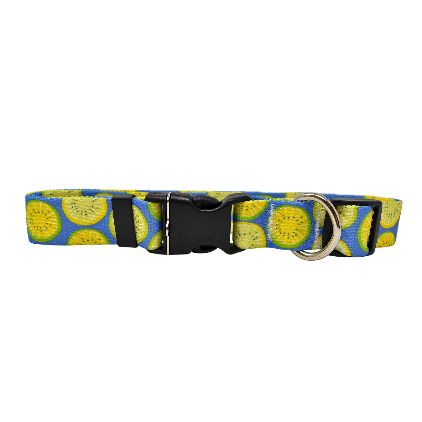 Lemon Lime Blue Standard Collar