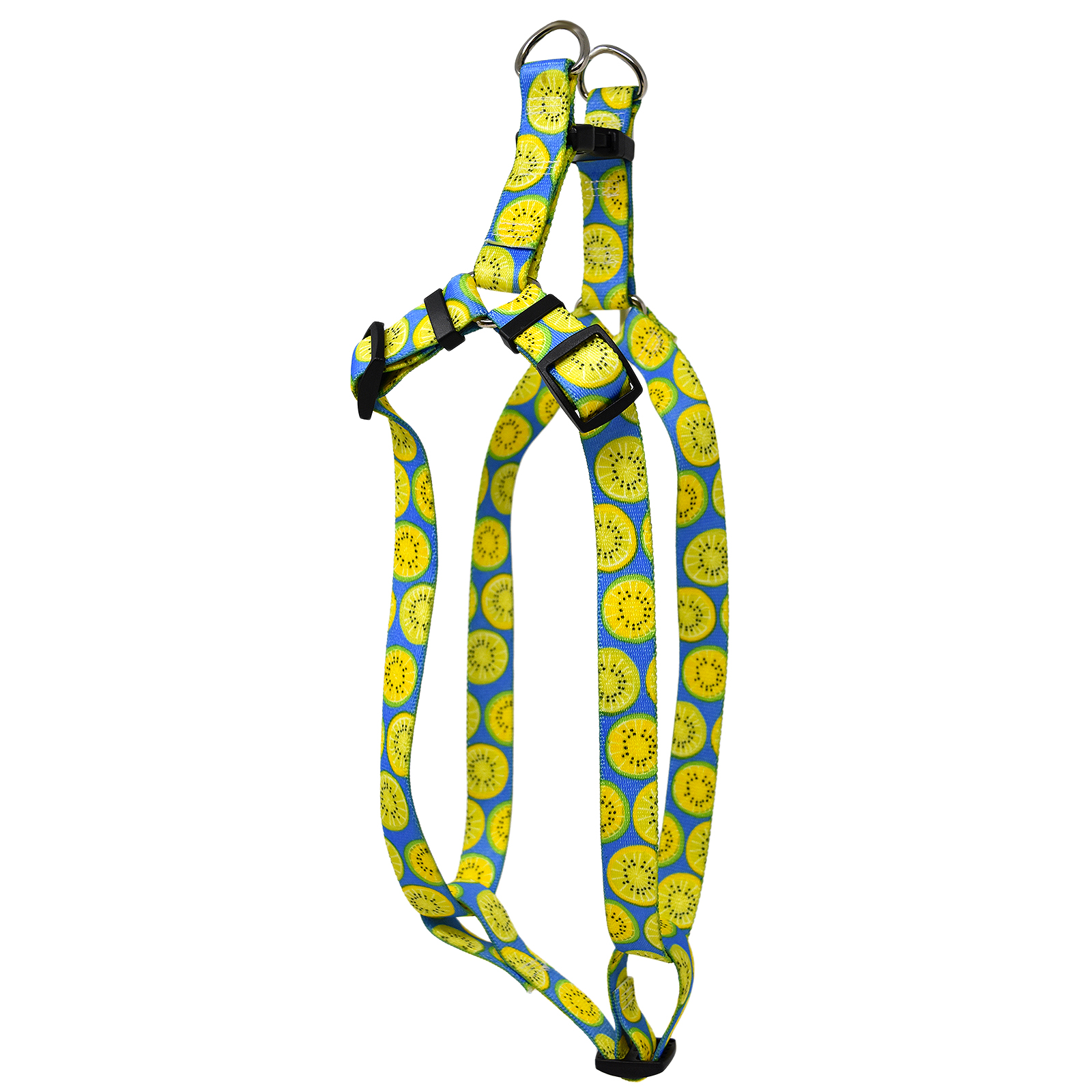 Lemon Lime Blue Step-In Harness