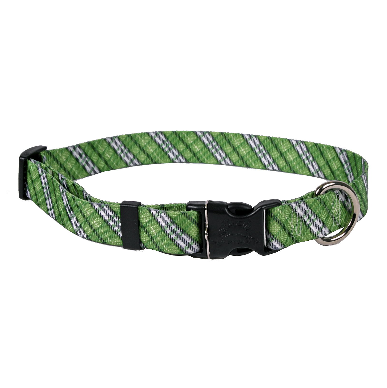 London Plaid Kelly Green Standard Collar