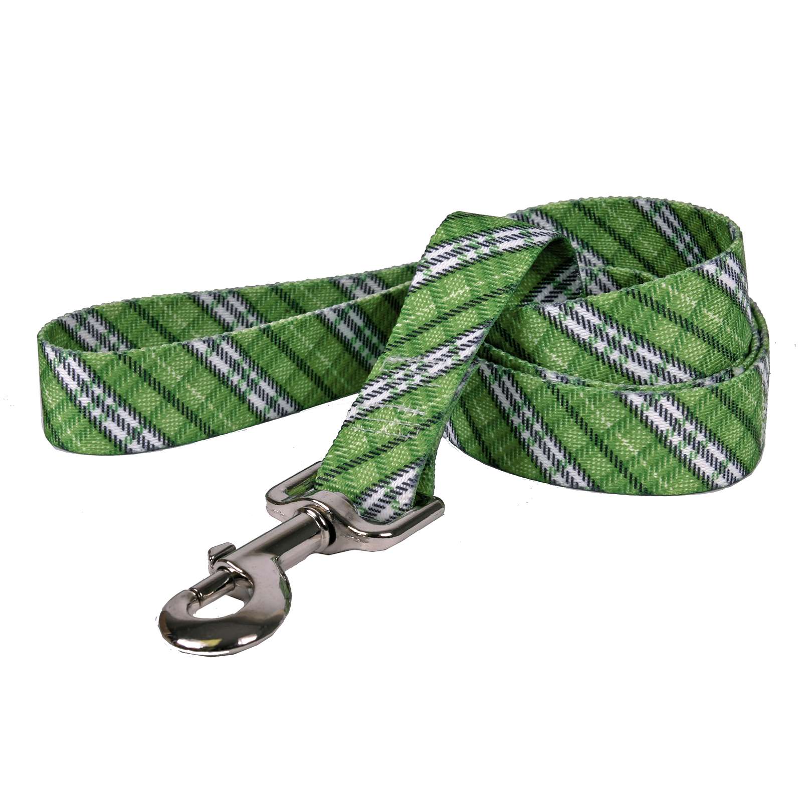 London Plaid Kelly Green Lead