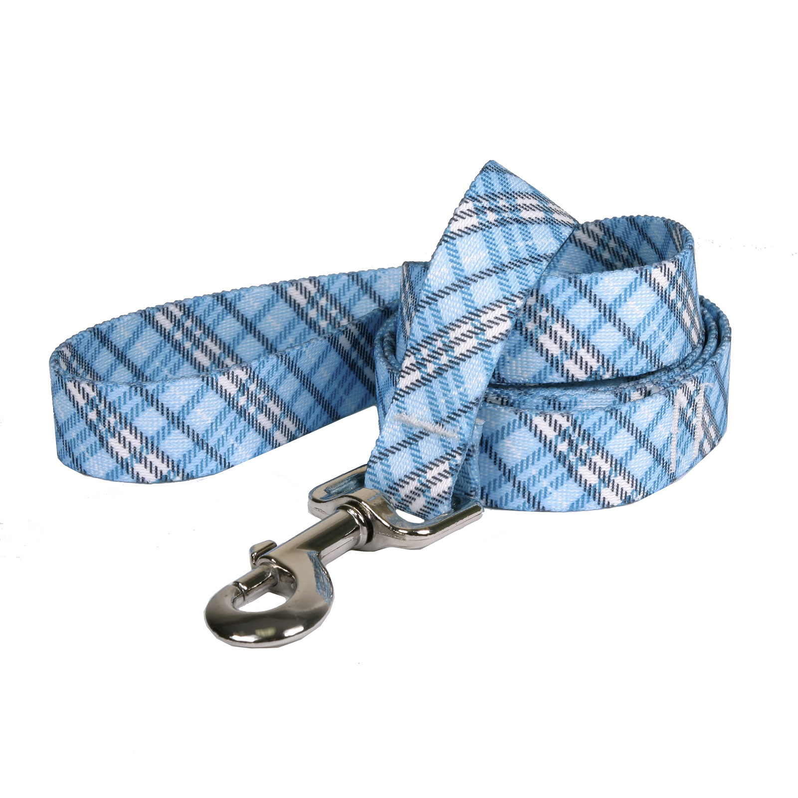 London Plaid Light Blue Lead