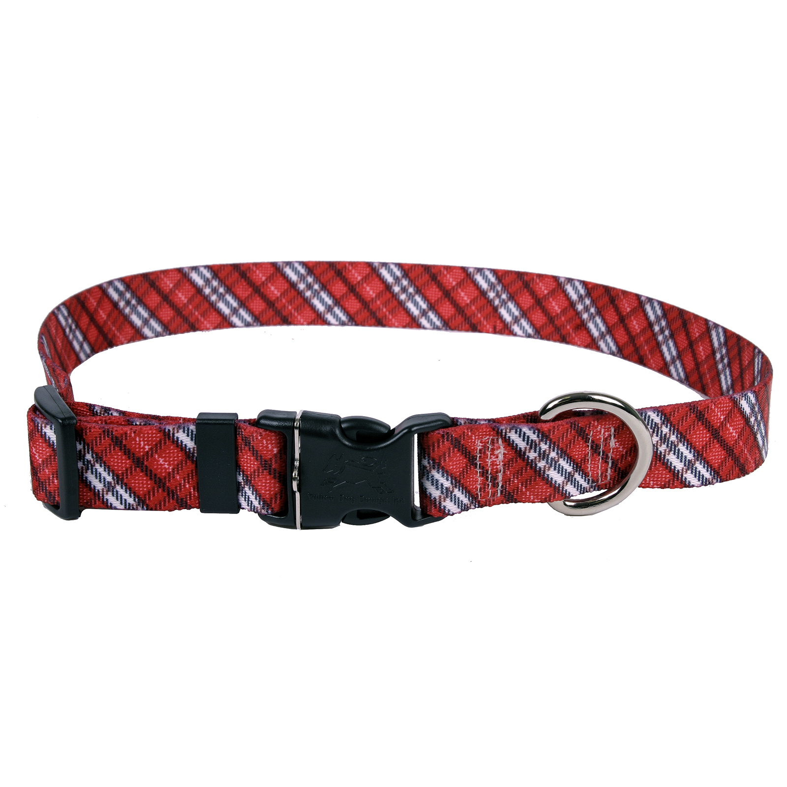 London Plaid Red Standard Collar