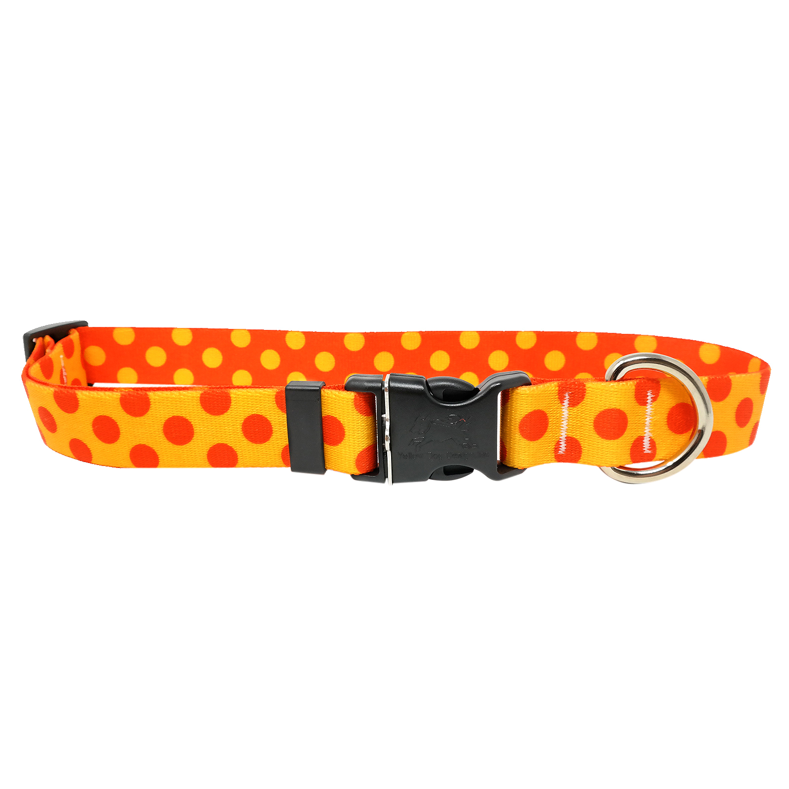 Goldenrod & Orange Polka Standard Collar