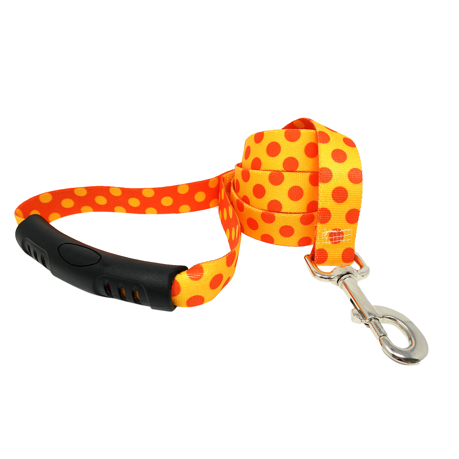 Goldenrod & Orange Polka EZ-Lead