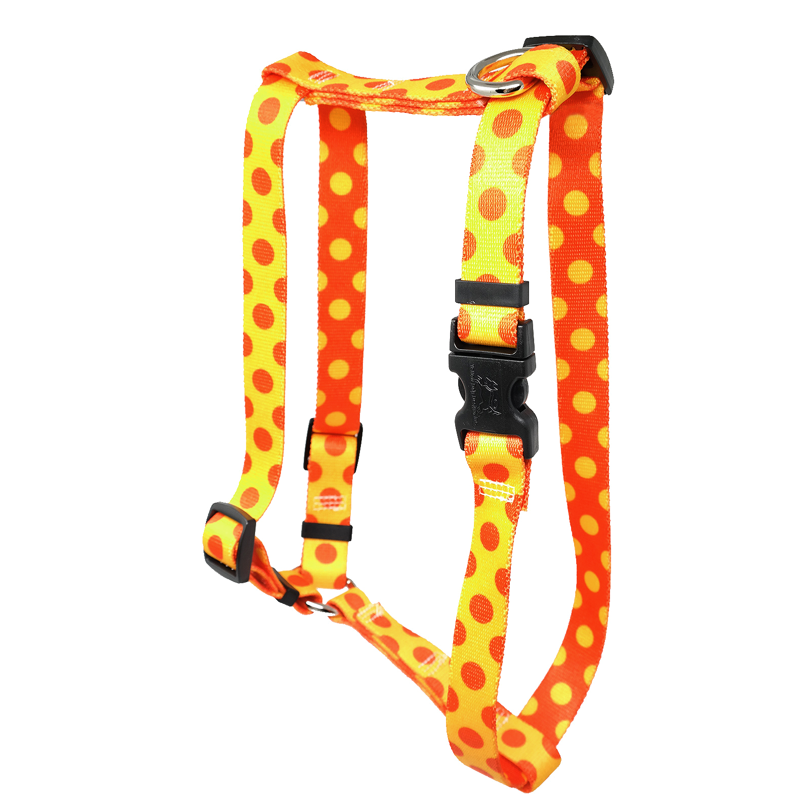 Goldenrod & Orange Polka Roman H Harness