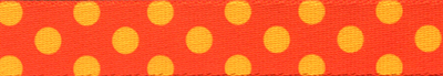 Orange & Goldenrod Polka