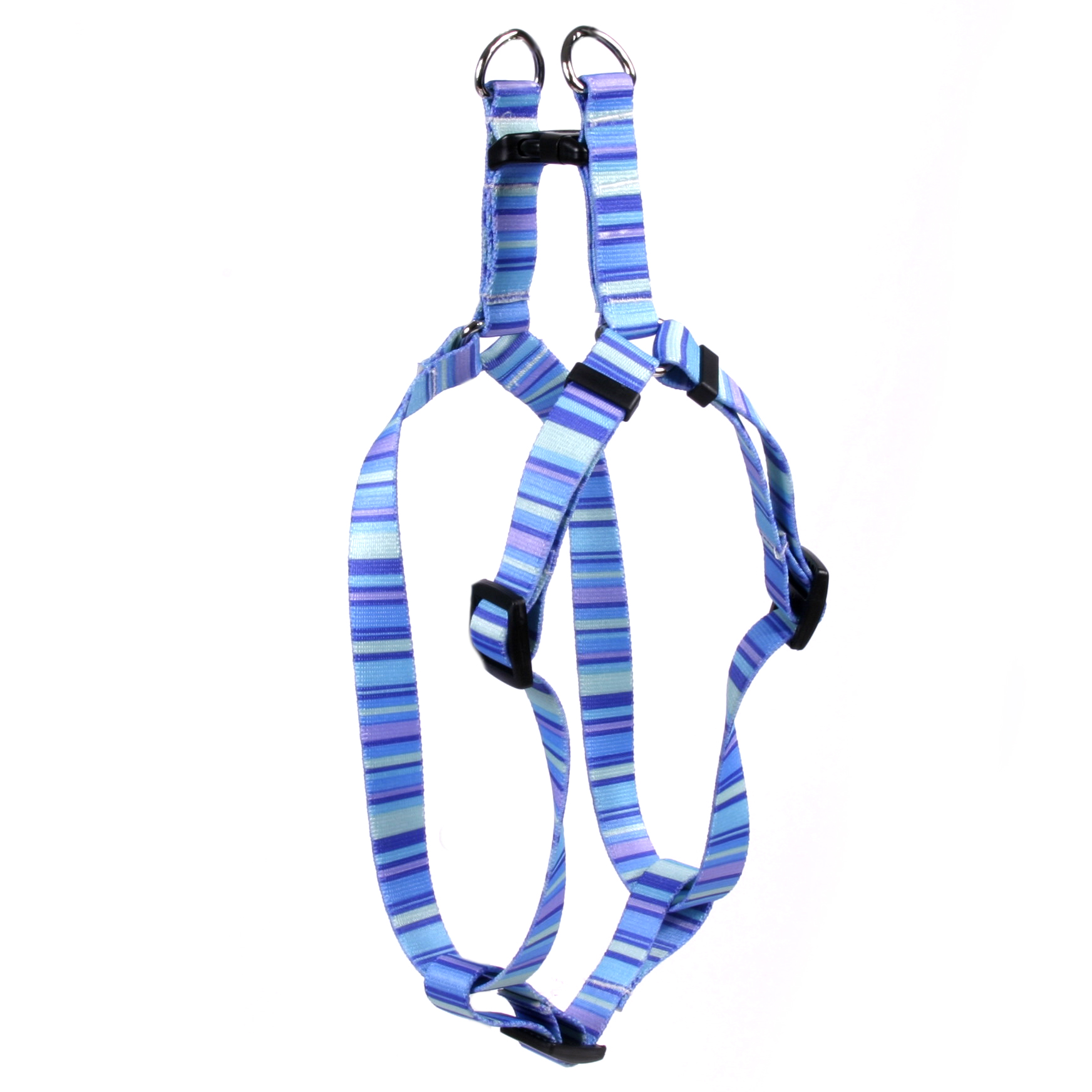 Midnight Stripes Step-In Harness