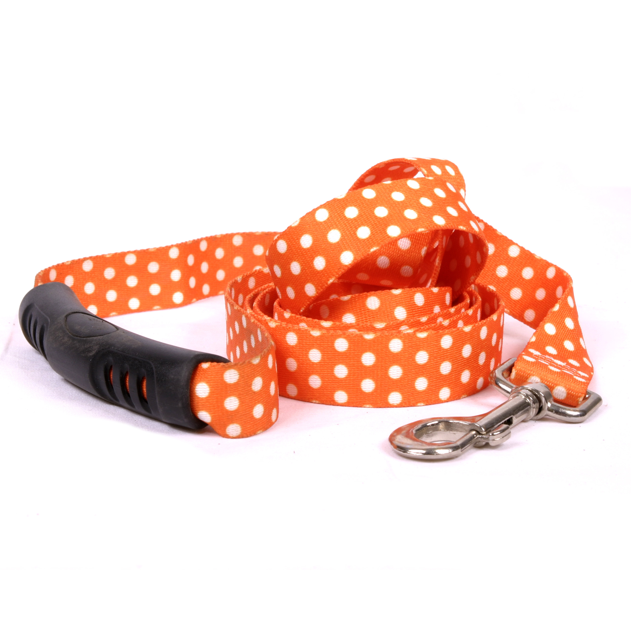 Orange Polka Dot  EZ-Lead