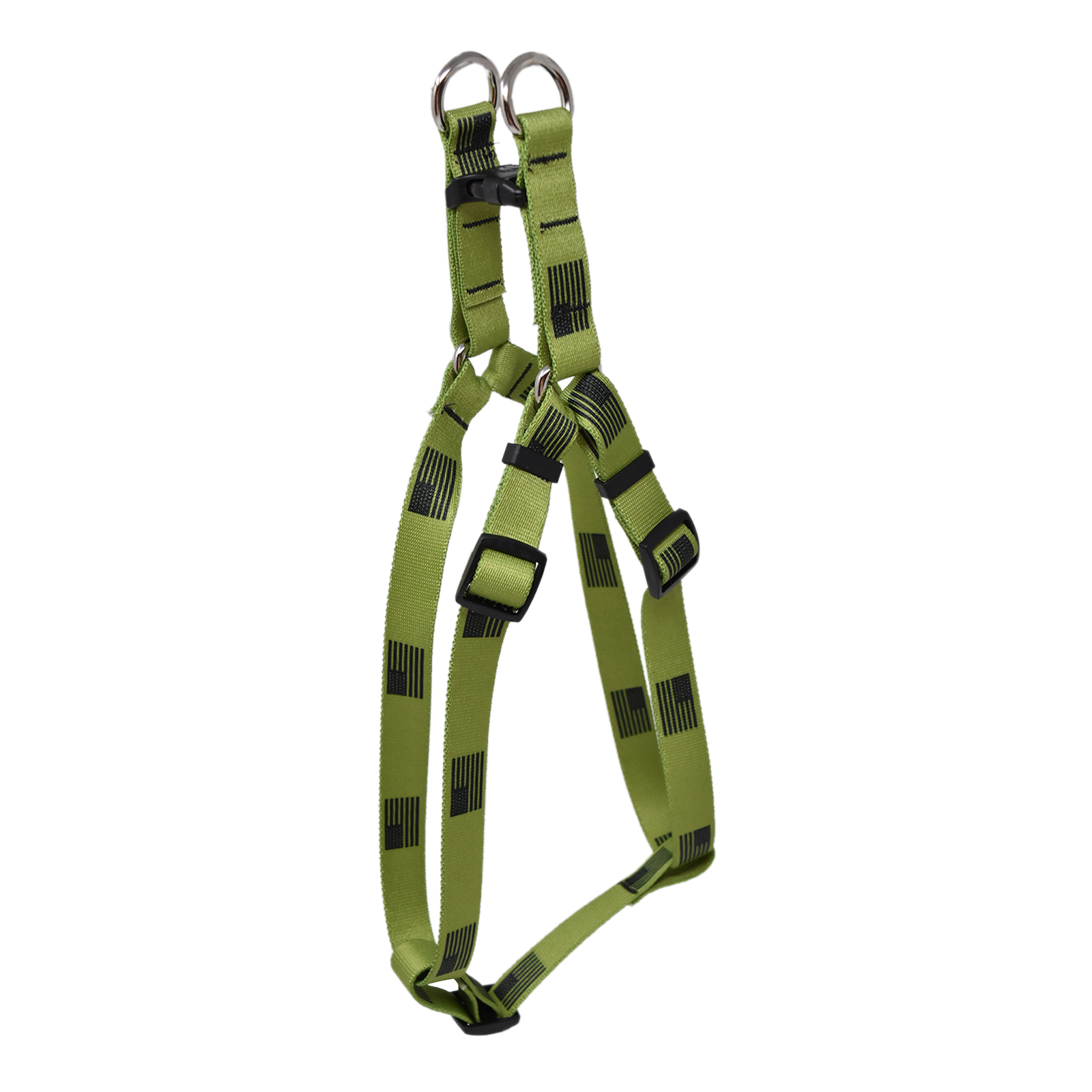 Olive Flag Step-In Harness