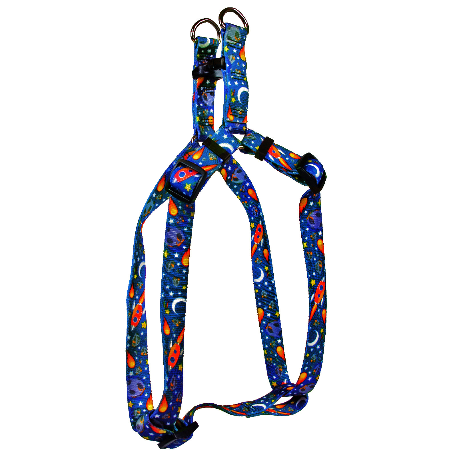 Outer Space Blue Step-In Harness