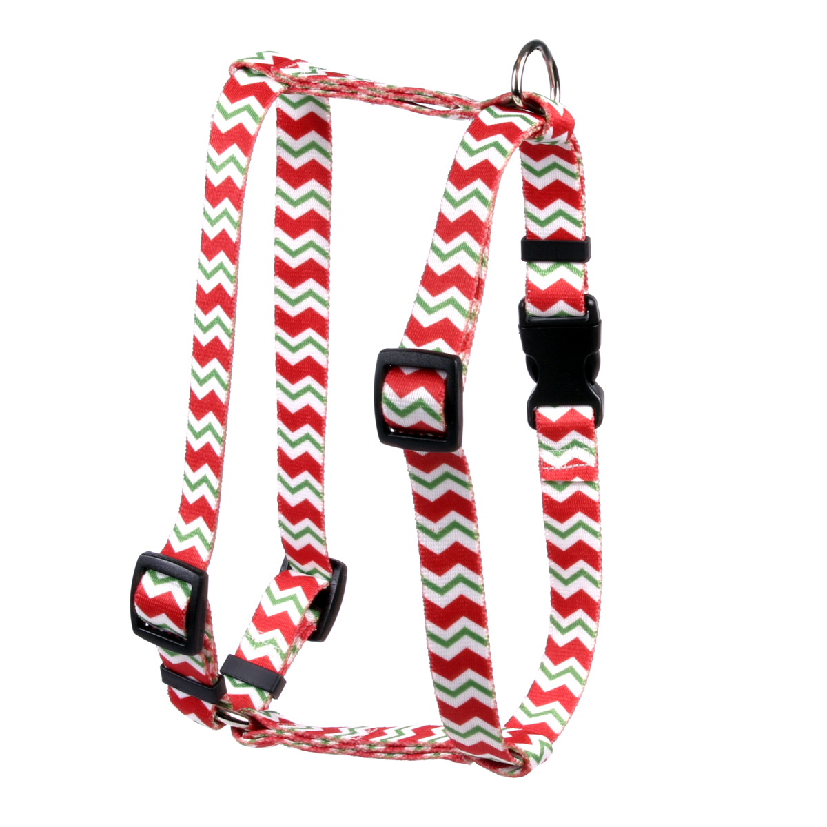 Peppermint Stick Chevron Stripes Roman H Harness
