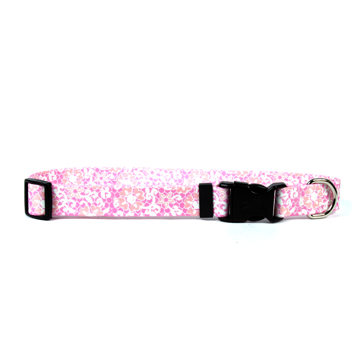 Pink Lace Standard Collar