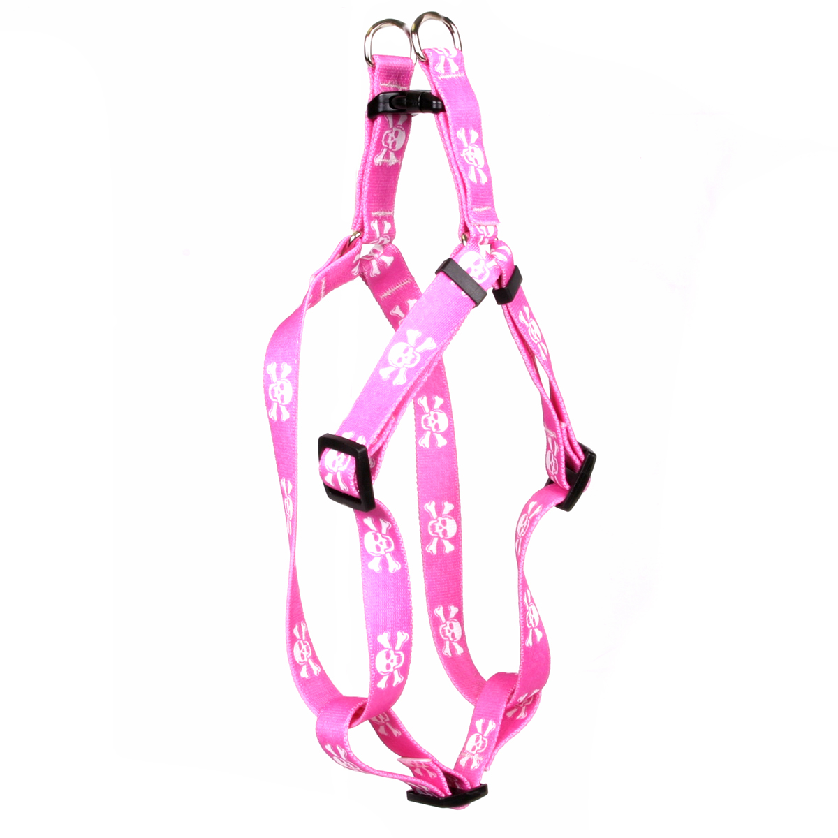 Pink Skulls Step-In Harness