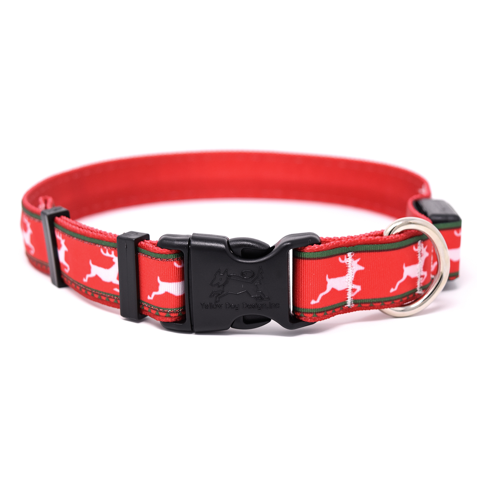 Reindeer Print  ORION LED Dog Collar