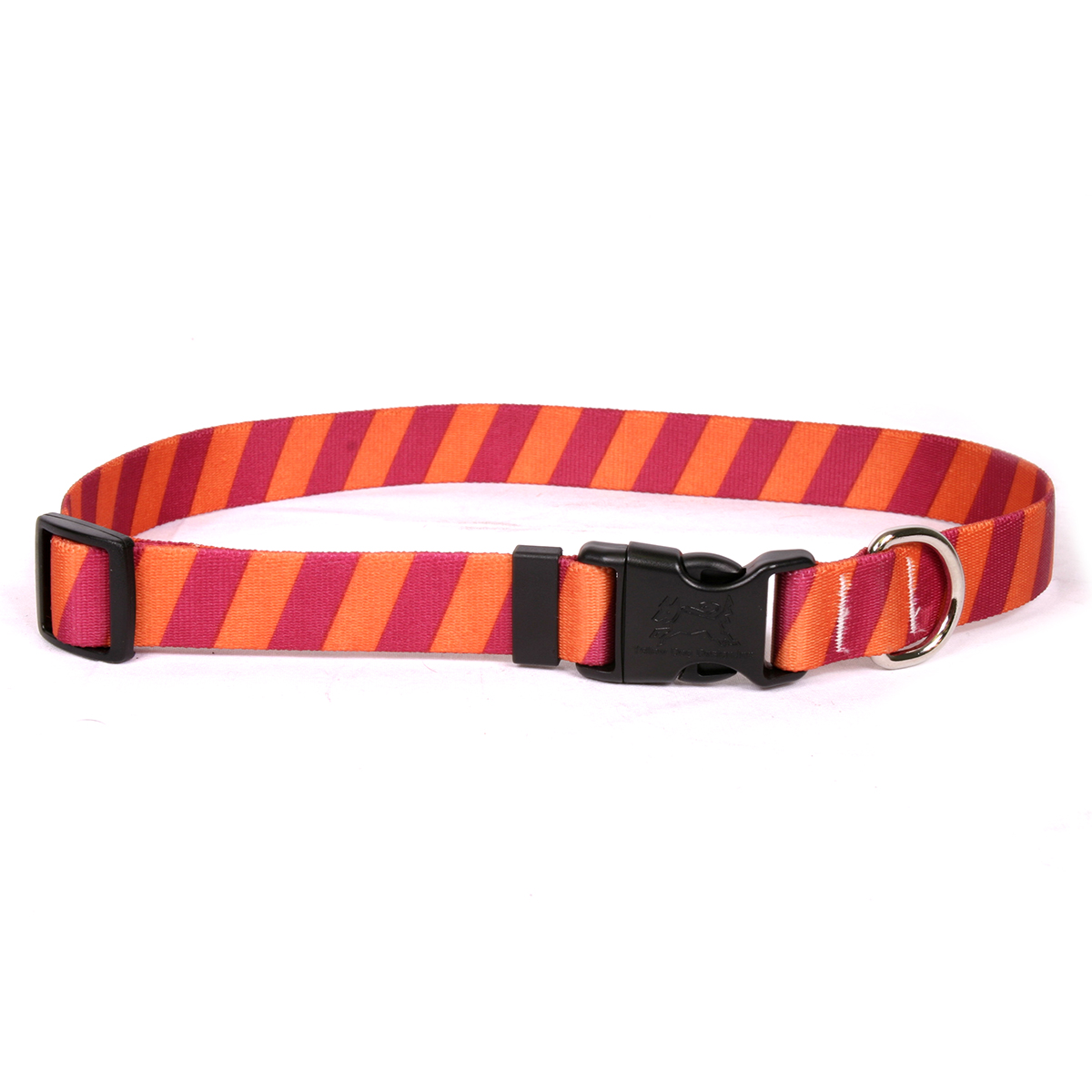 Team Spirit Maroon and Orange Standard Collar