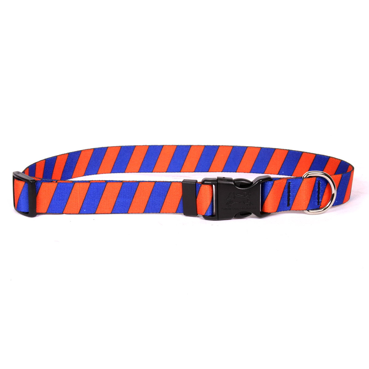 Team Spirit Orange and Blue Standard Collar