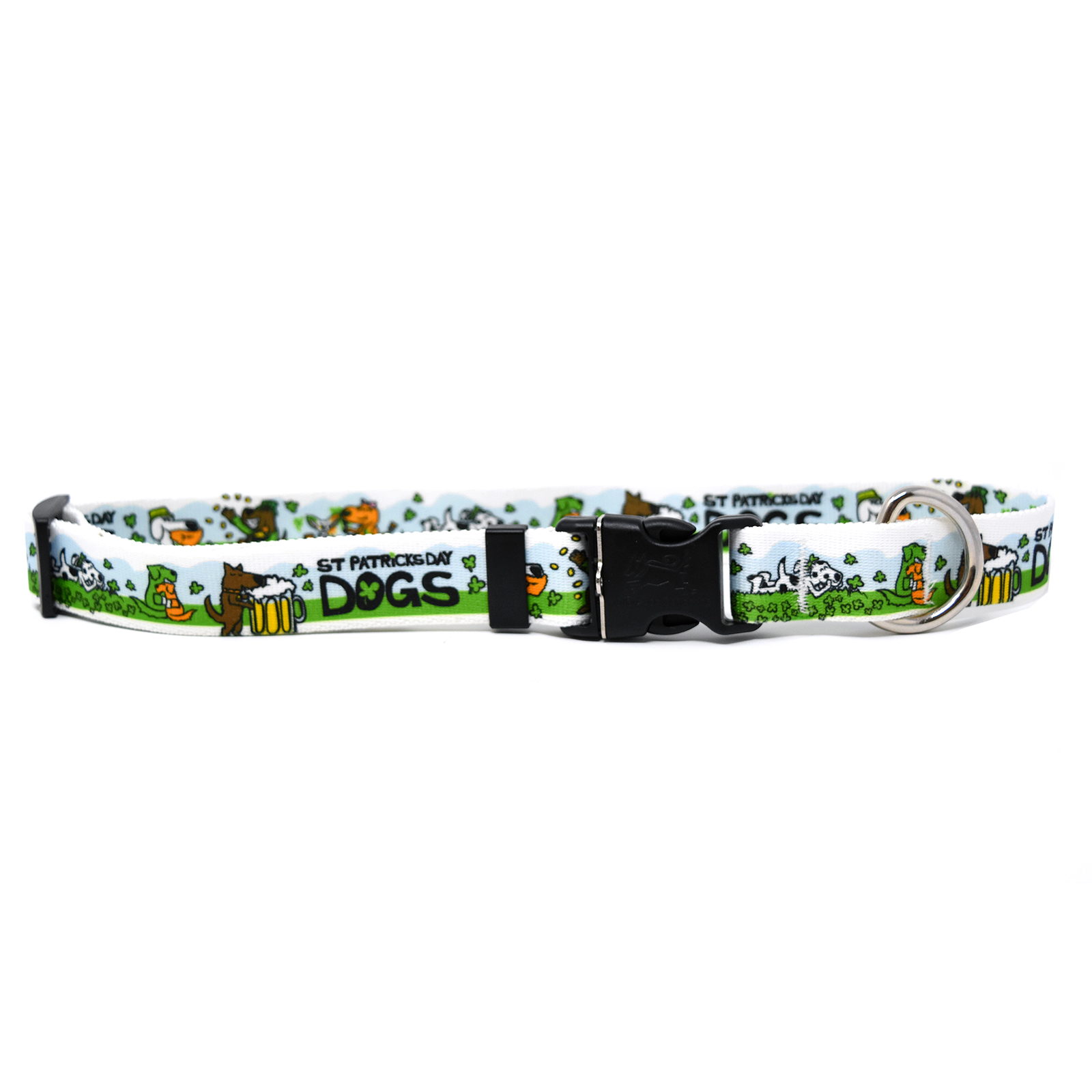 St Patricks Day Dogs Standard Collar