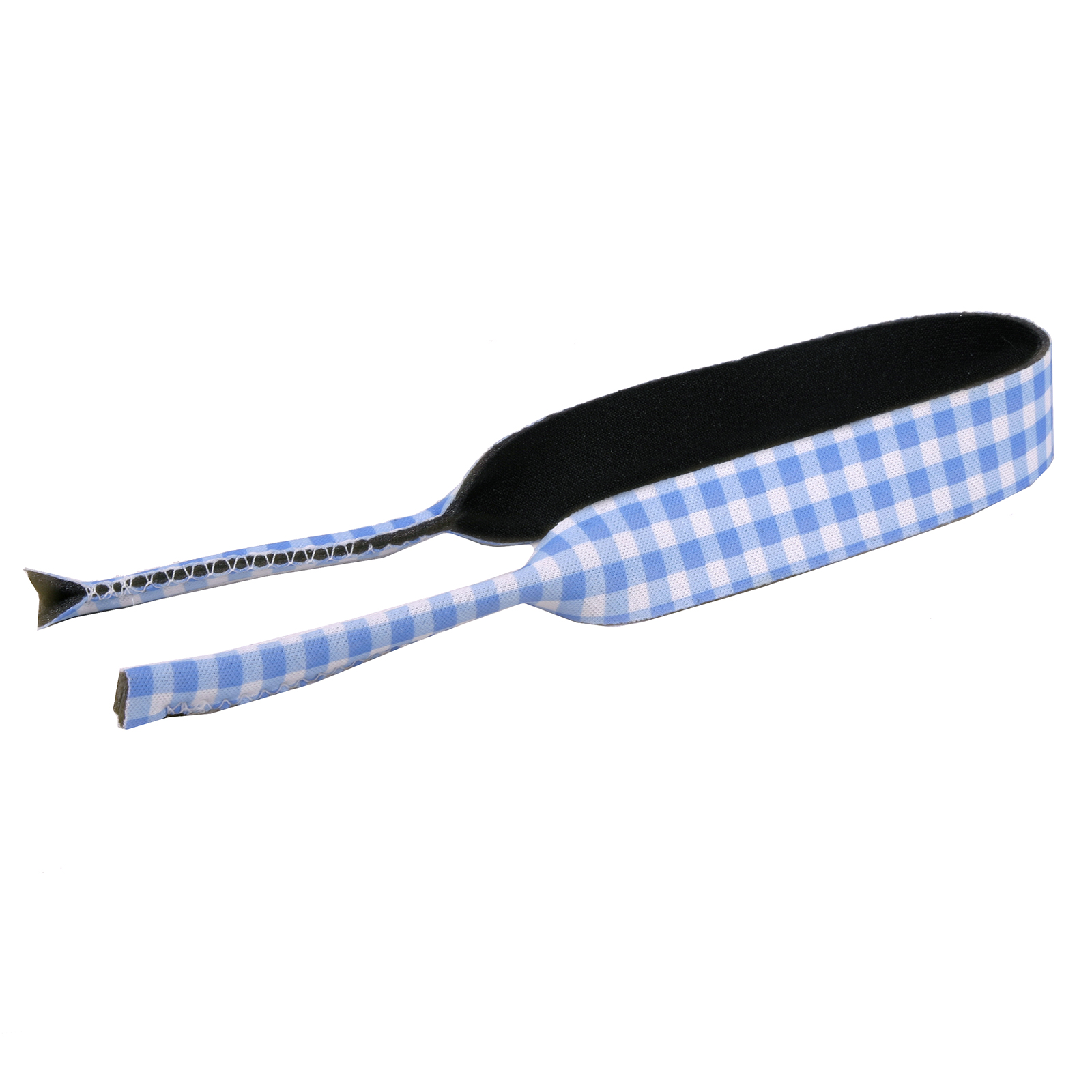 Southern Dawg: Gingham Blue Banana Peel