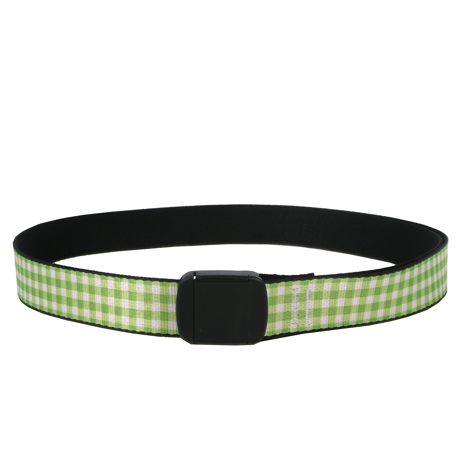 Southern Dawg: Gingham Green Fashion Belt