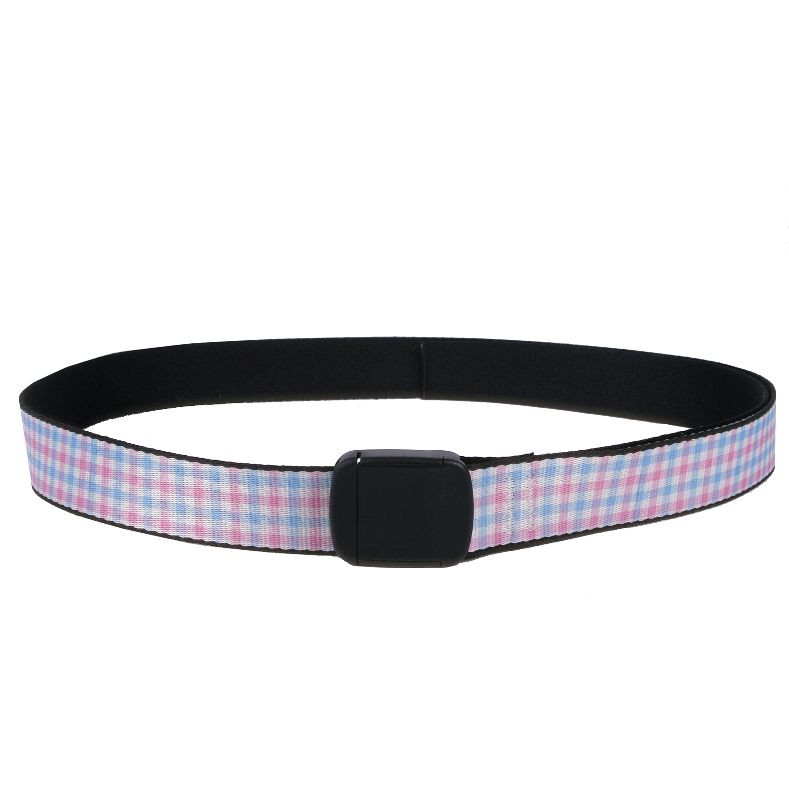 Southern Dawg: Gingham Navy Blue Fashion Belt