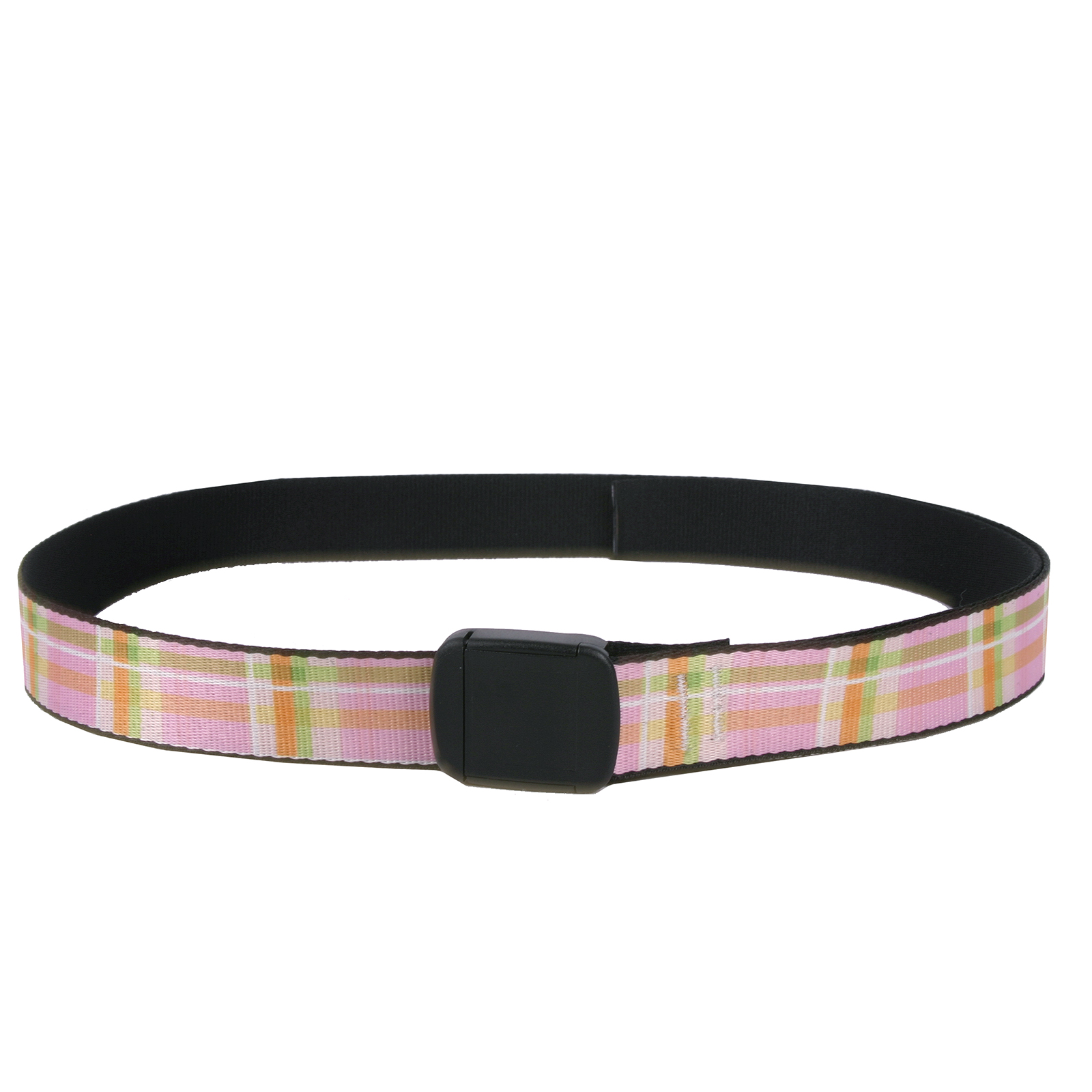 Southern Dawg: Gingham Pink Fashion Belt