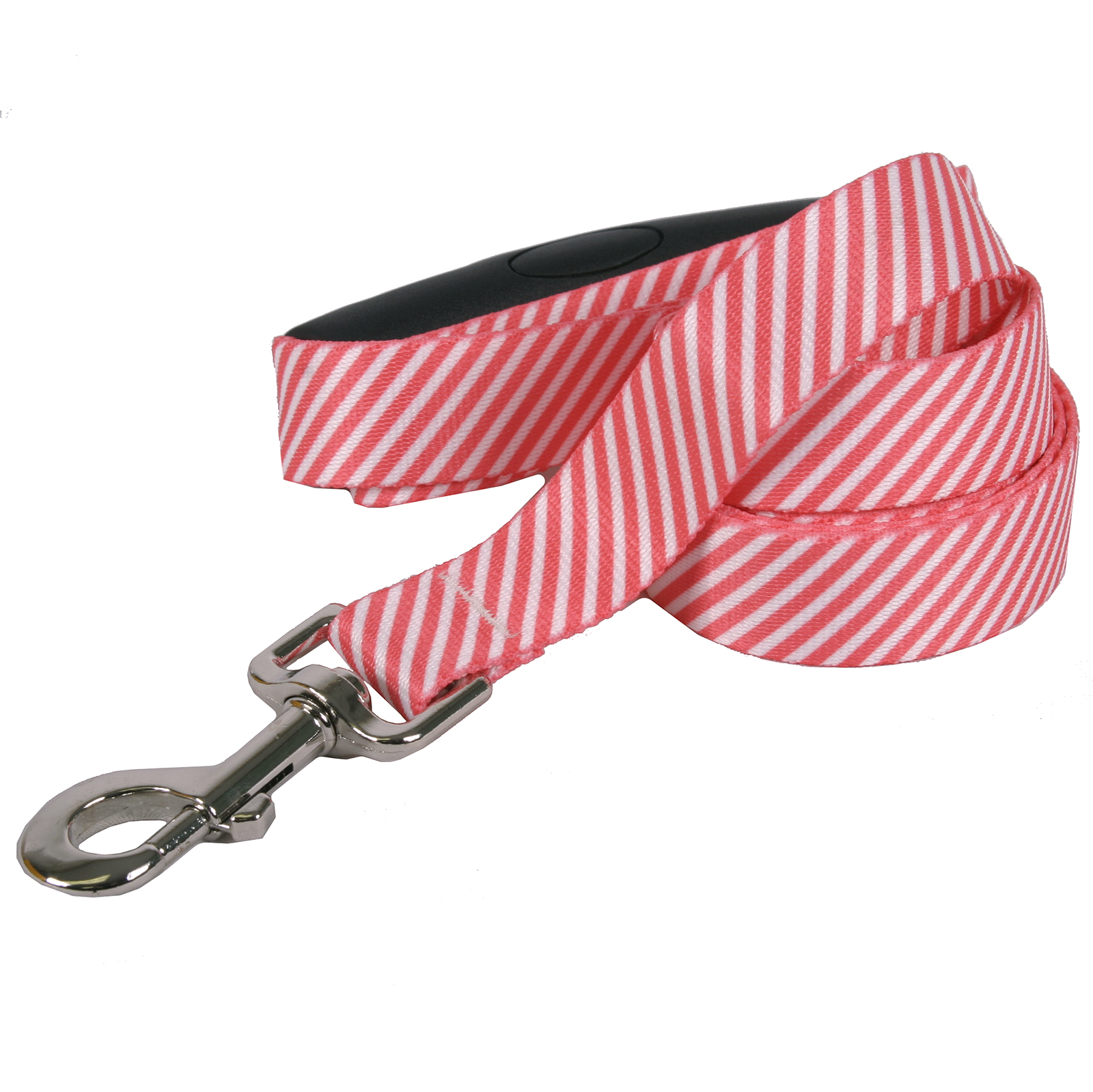 Southern Dawg: Seersucker Red EZ-Grip Dog Leash