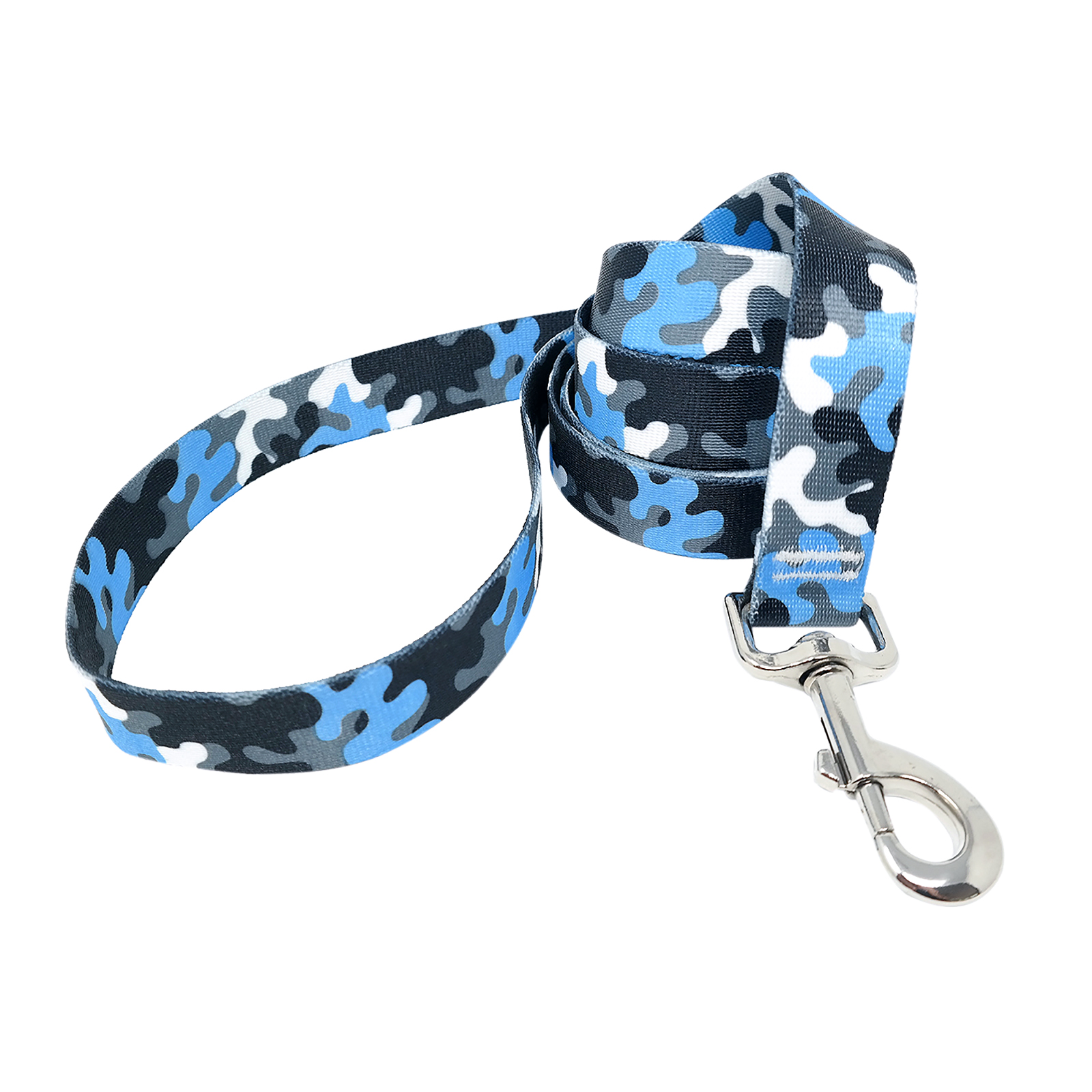 Light Blue & Black Camo Lead