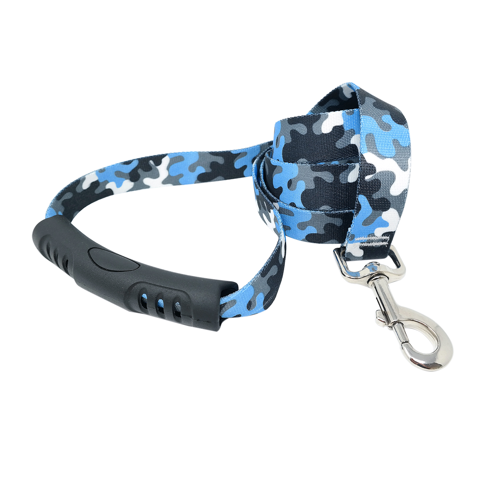 Light Blue & Black Camo EZ-Lead