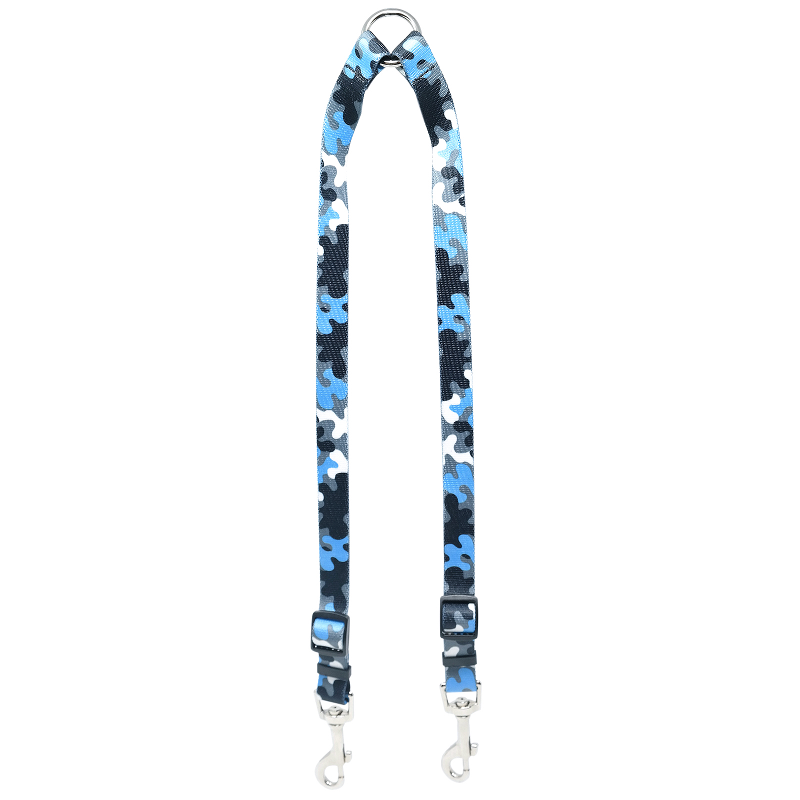 Light Blue & Black Camo Coupler Lead