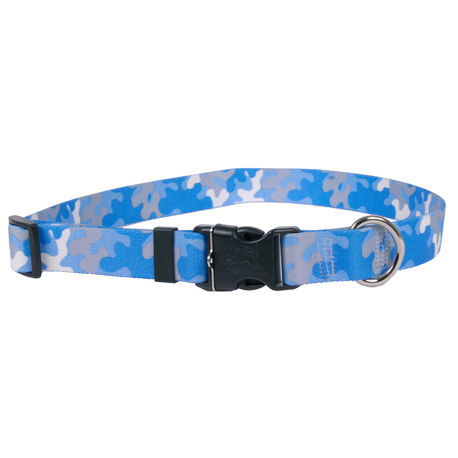 Light Blue & Grey Camo Standard Collar