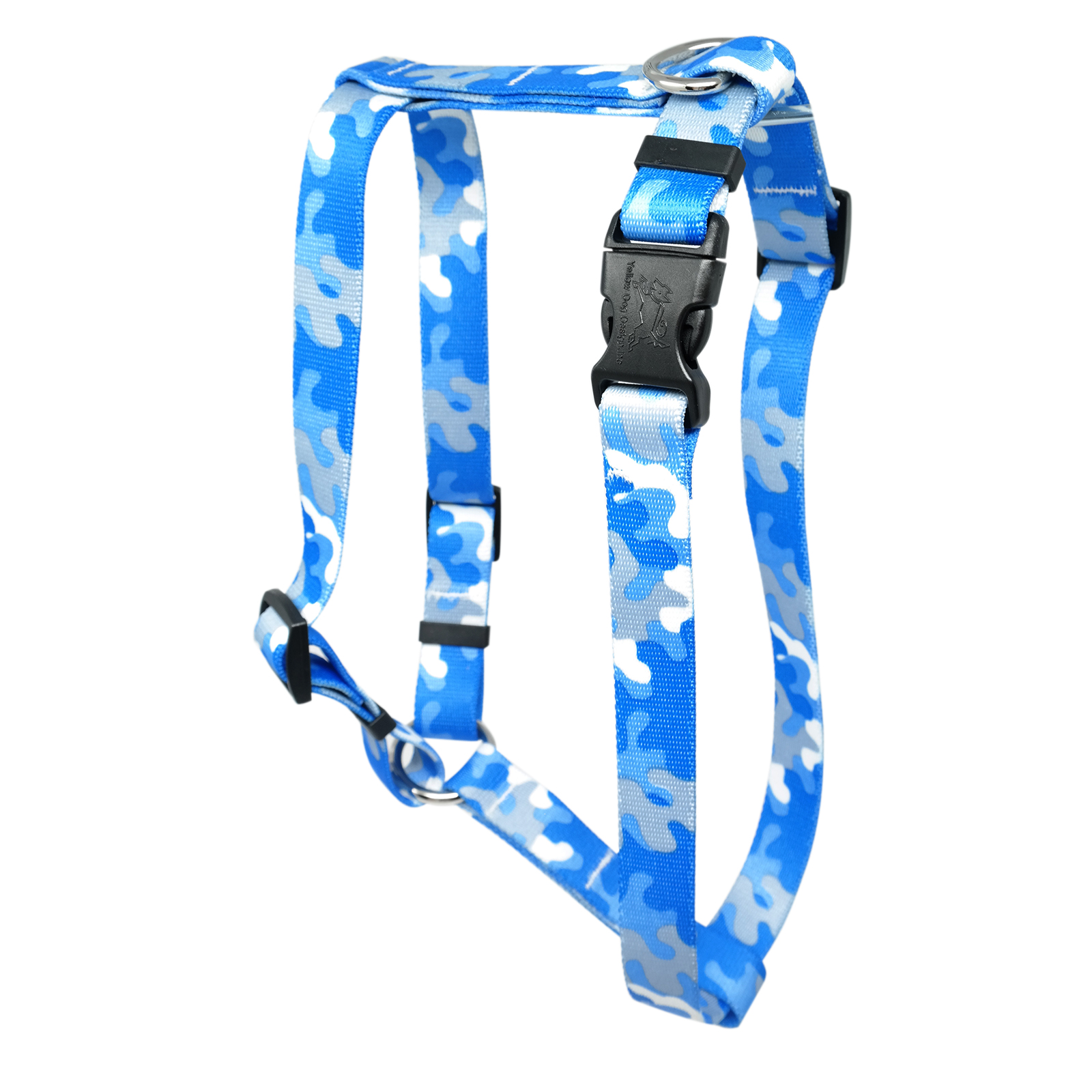 Light Blue & Grey Camo Roman H Harness
