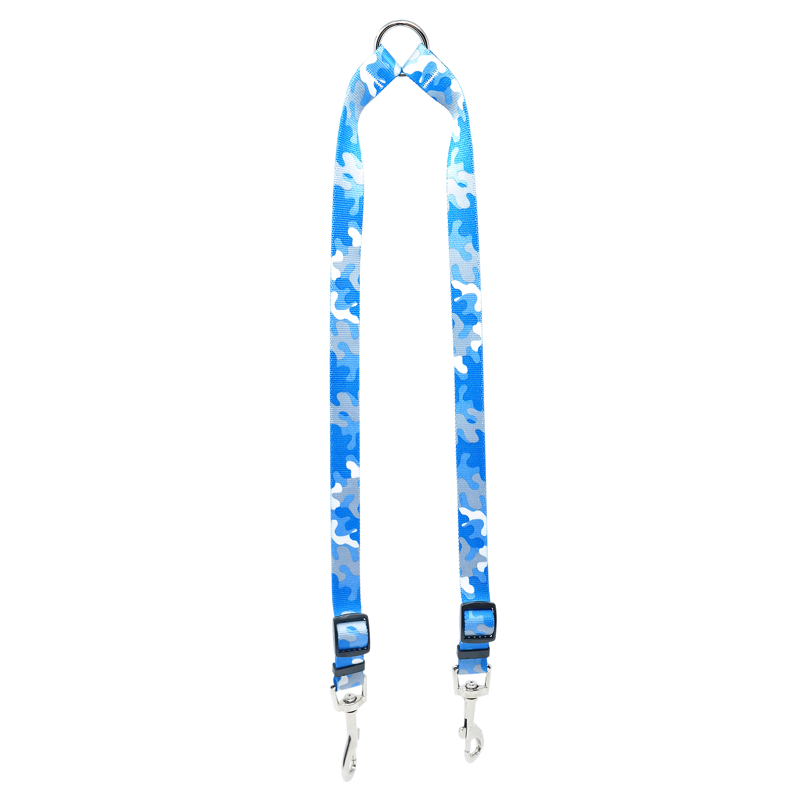 Light Blue & Grey Camo Coupler Lead