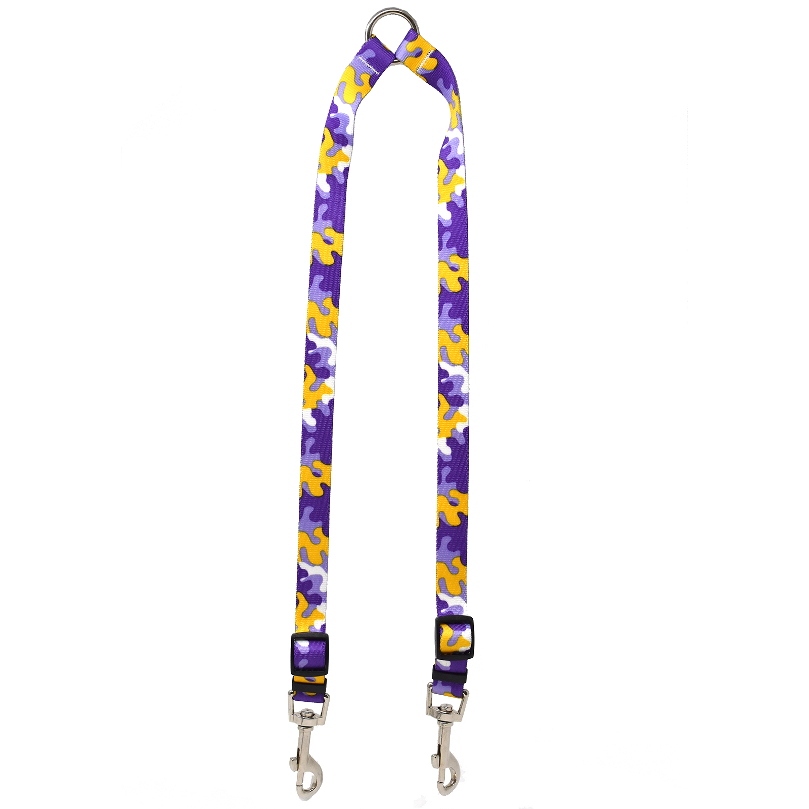 Purple & Gold Camo Coupler Lead