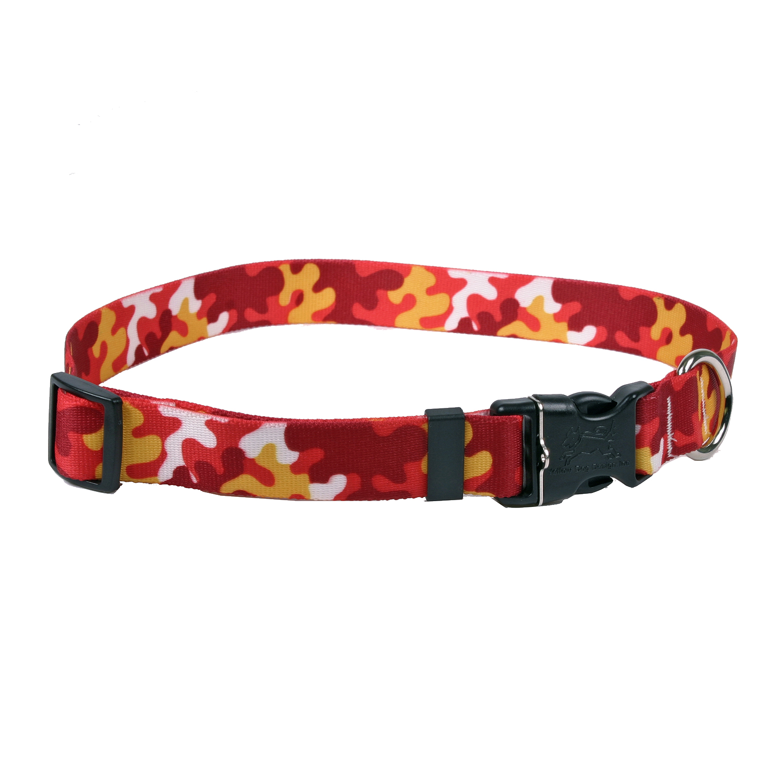 Red & Gold Camo Standard Collar
