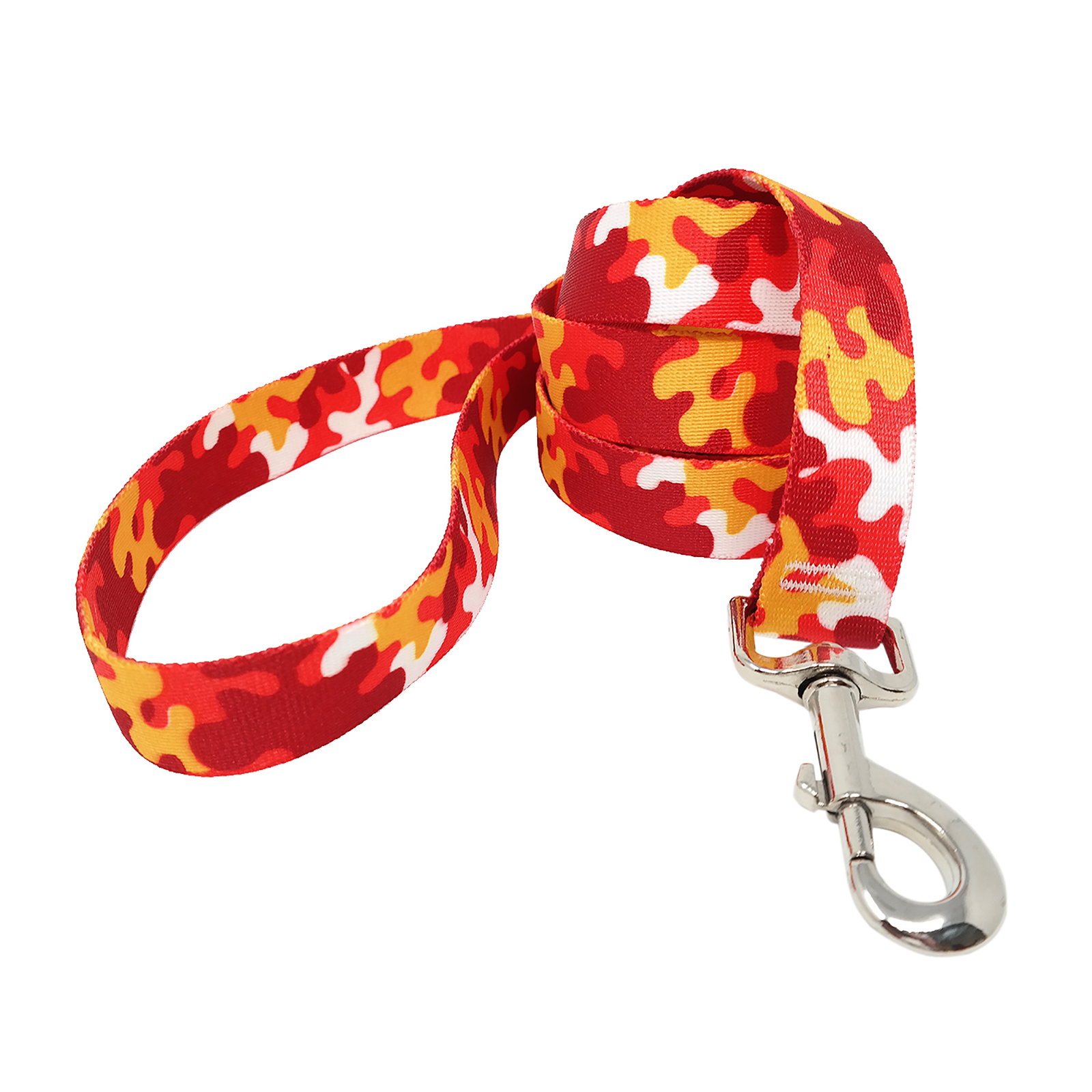 Red & Gold Camo Lead