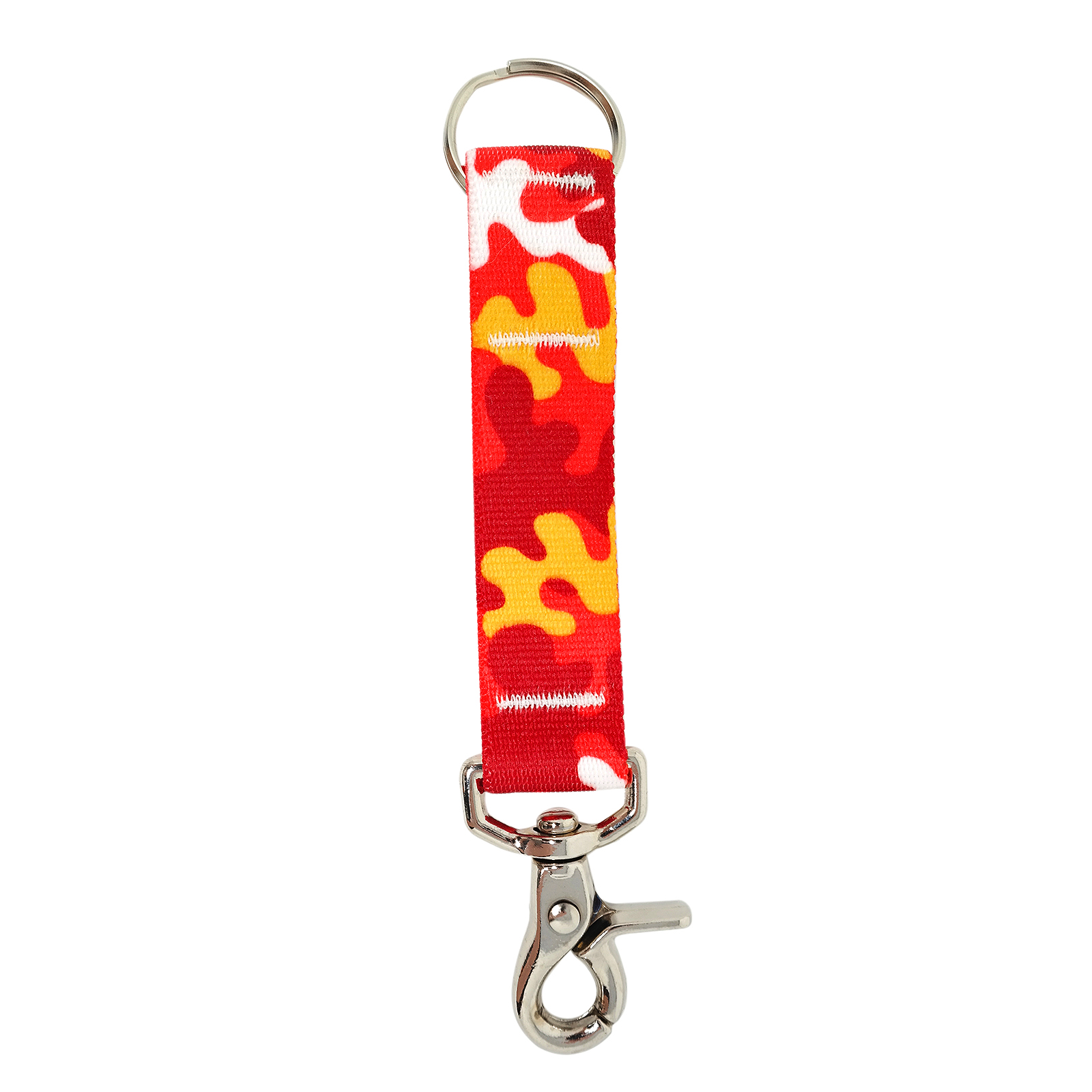 Red & Gold Camo keychain