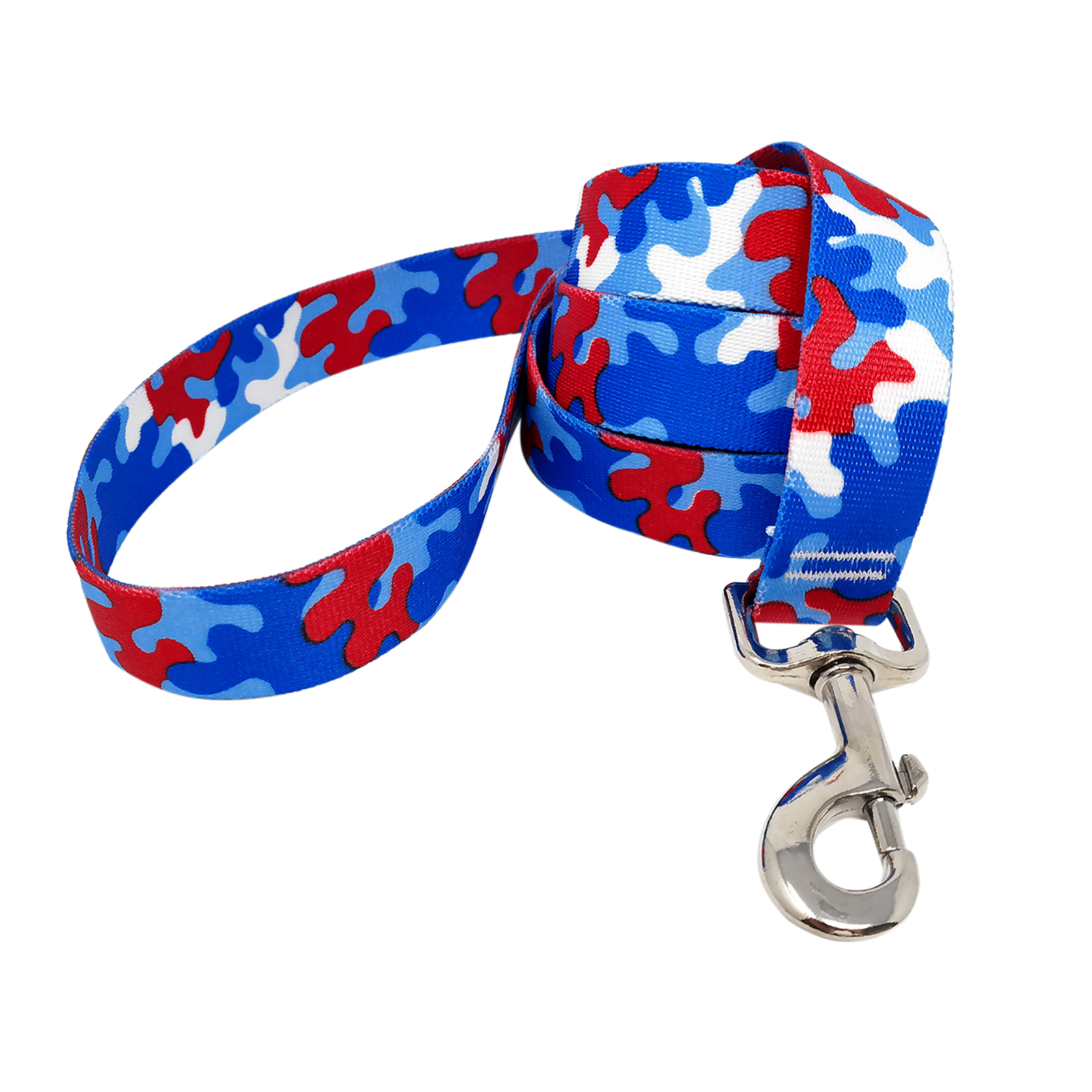 Red & Royal Blue Camo Lead