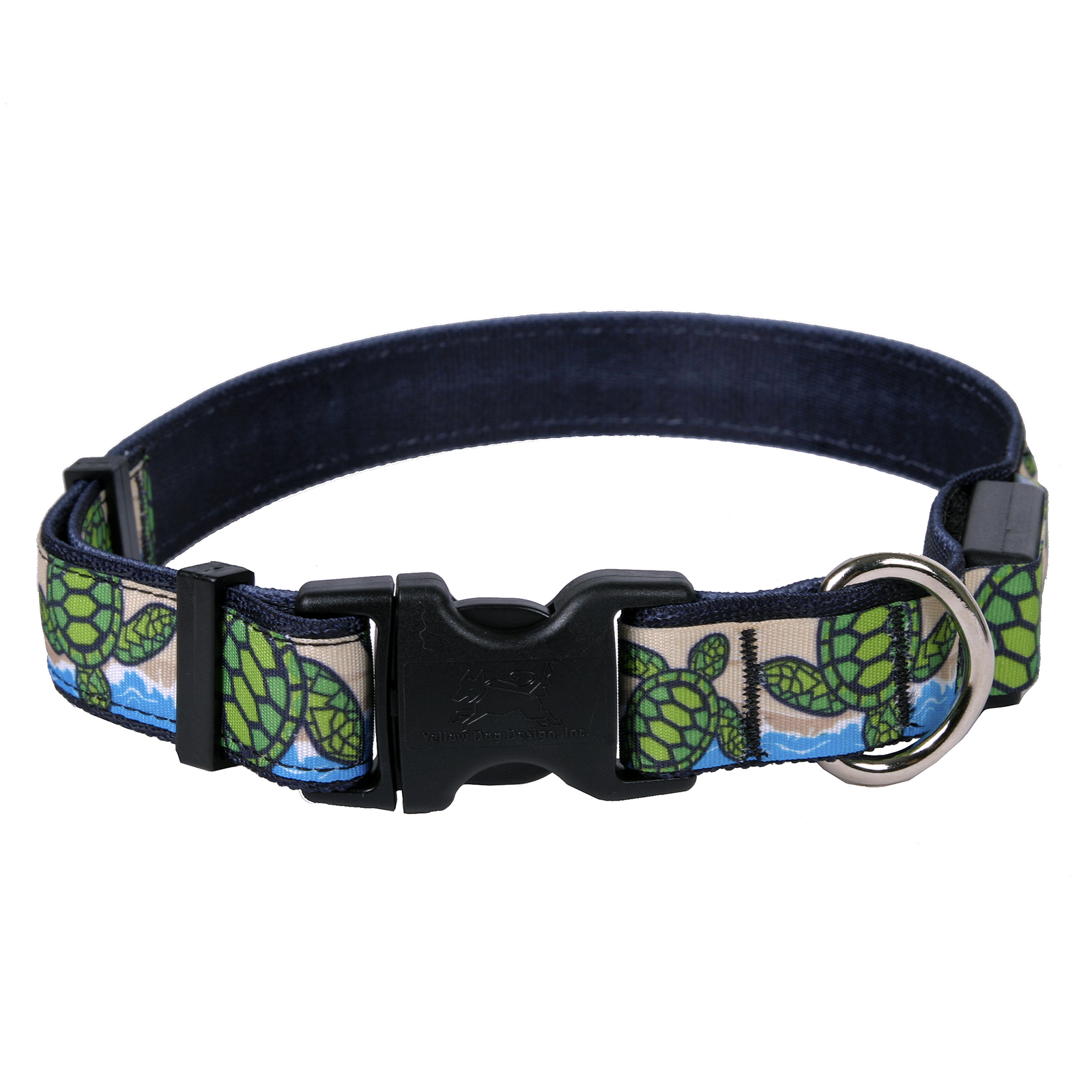 Turtles on the Beach ORION LED Dog Collar
