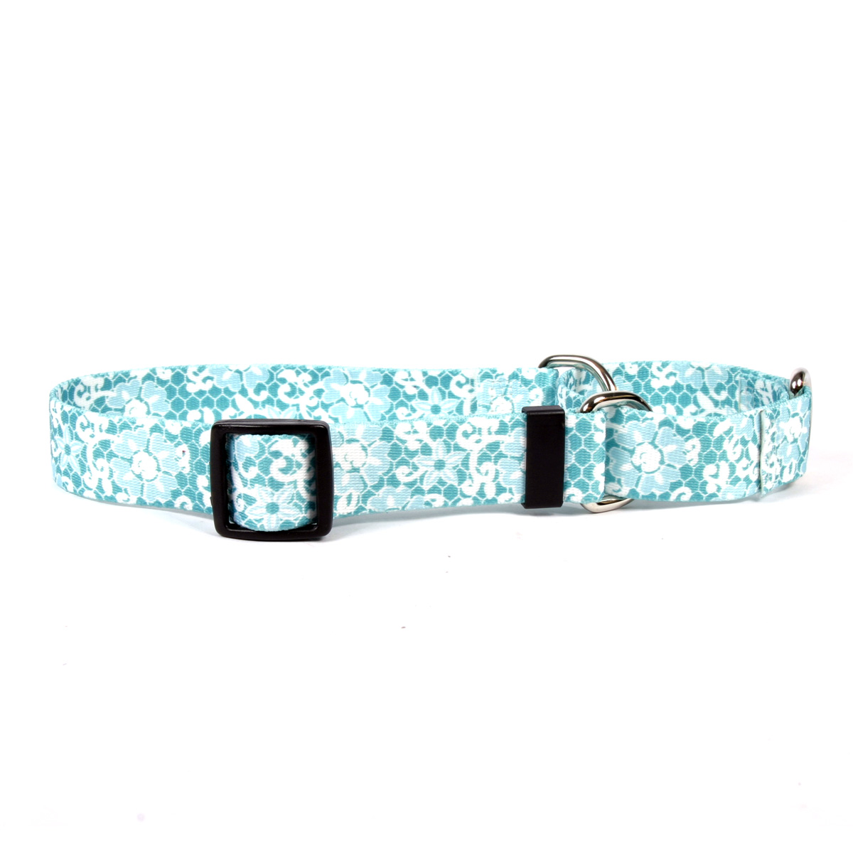 Blue Lace Martingale Collar