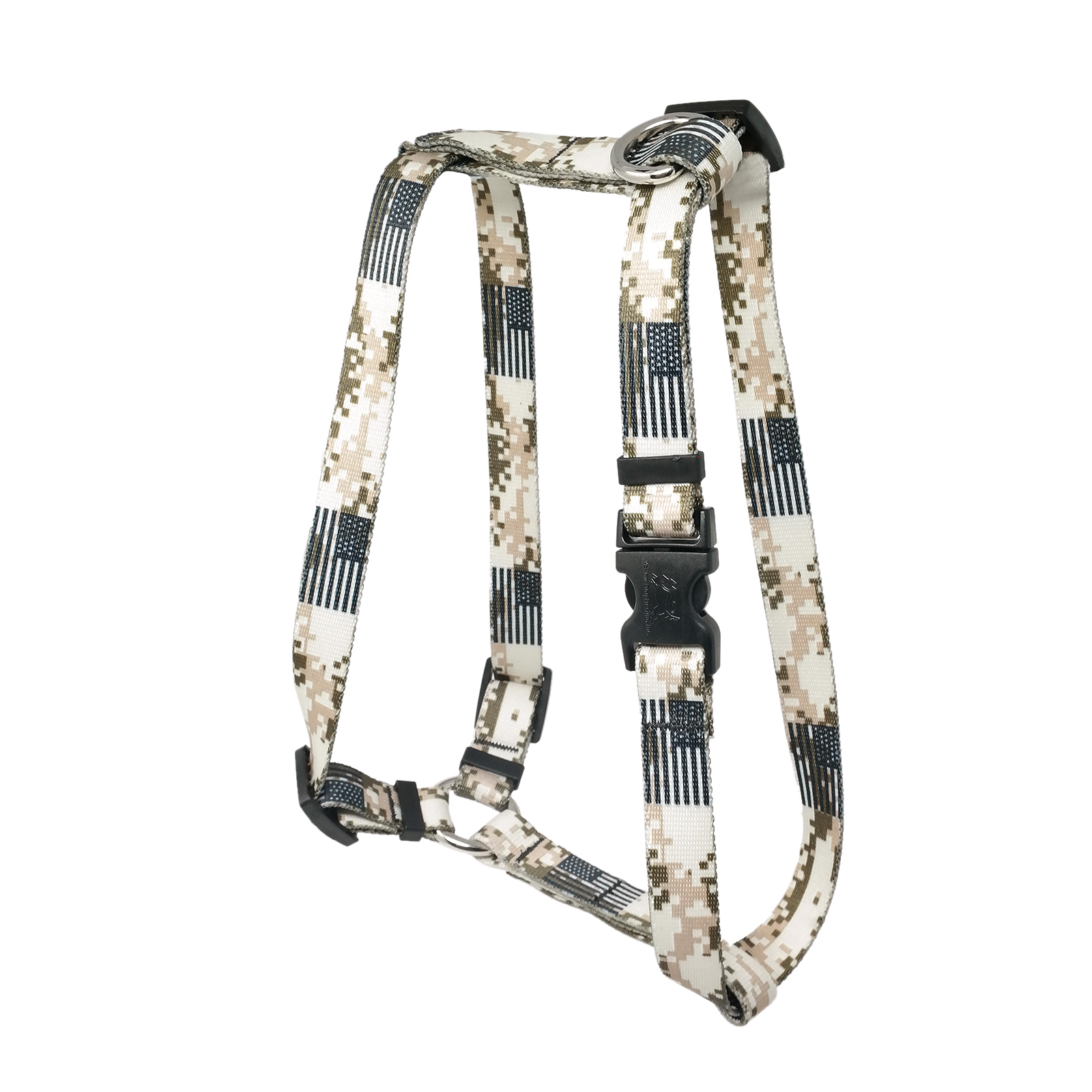 Urban Camo Roman H Harness