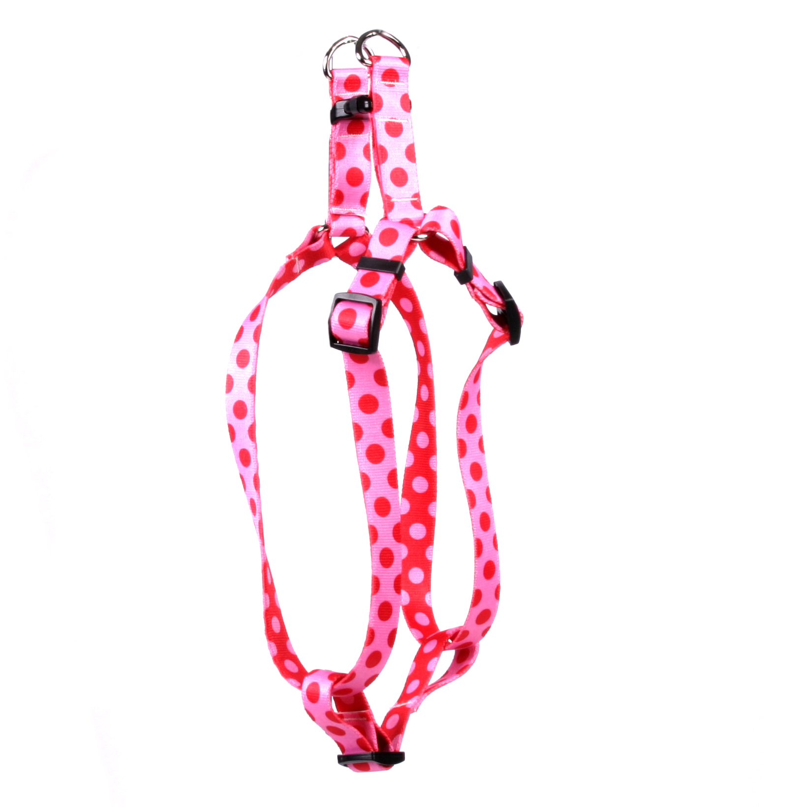 Valentine Polka Dot Step-In Harness
