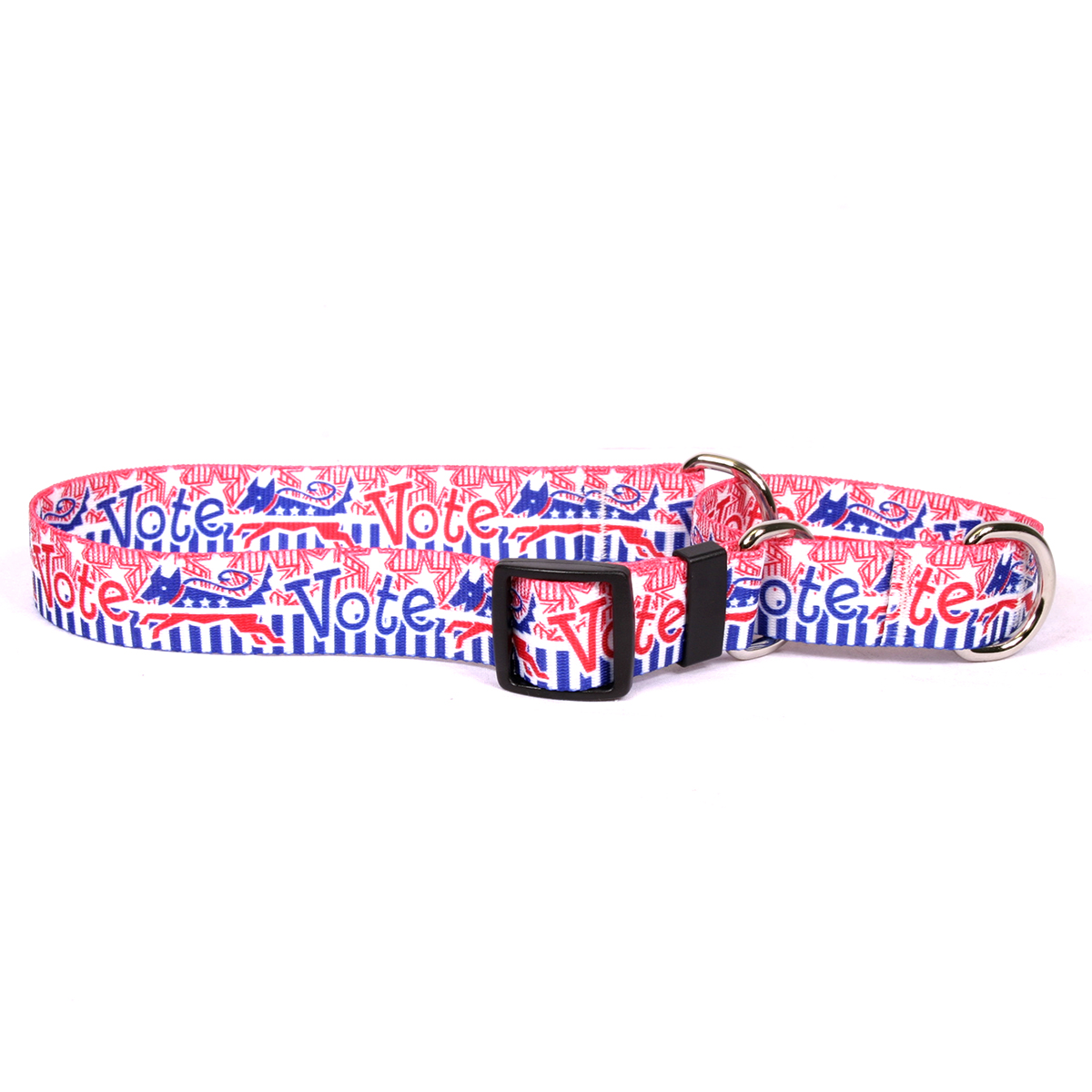 Voter Dog Martingale Collar
